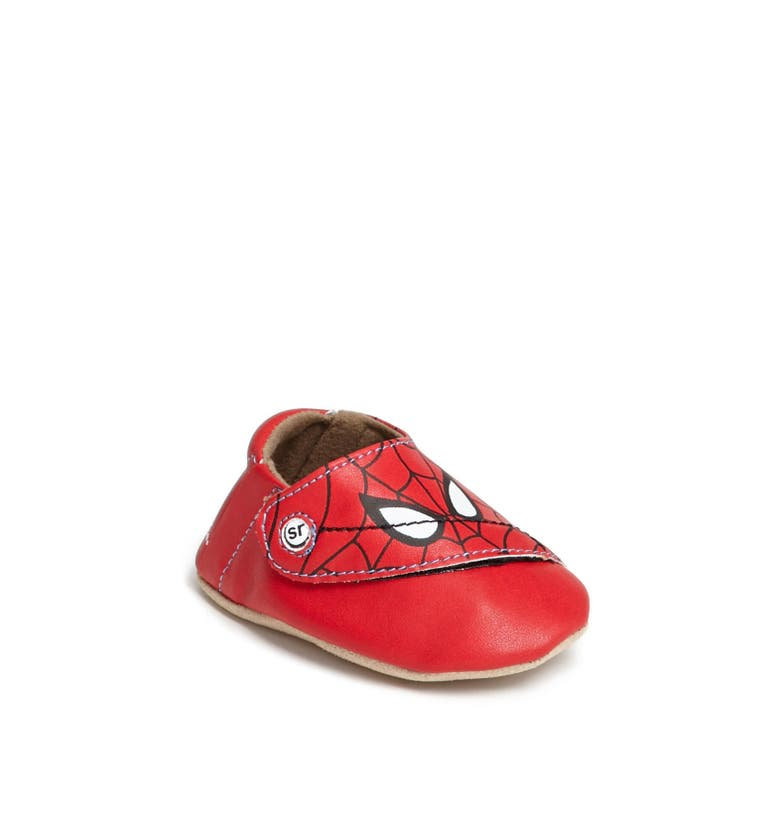 Stride Rite Spider Man 174 Crib Shoe Baby Boys Nordstrom