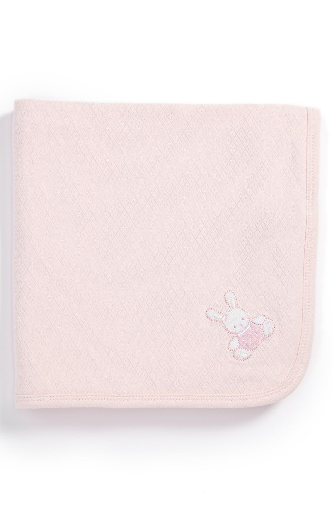 Main Image - Little Me 'Pretty Bunny' Receiving Blanket