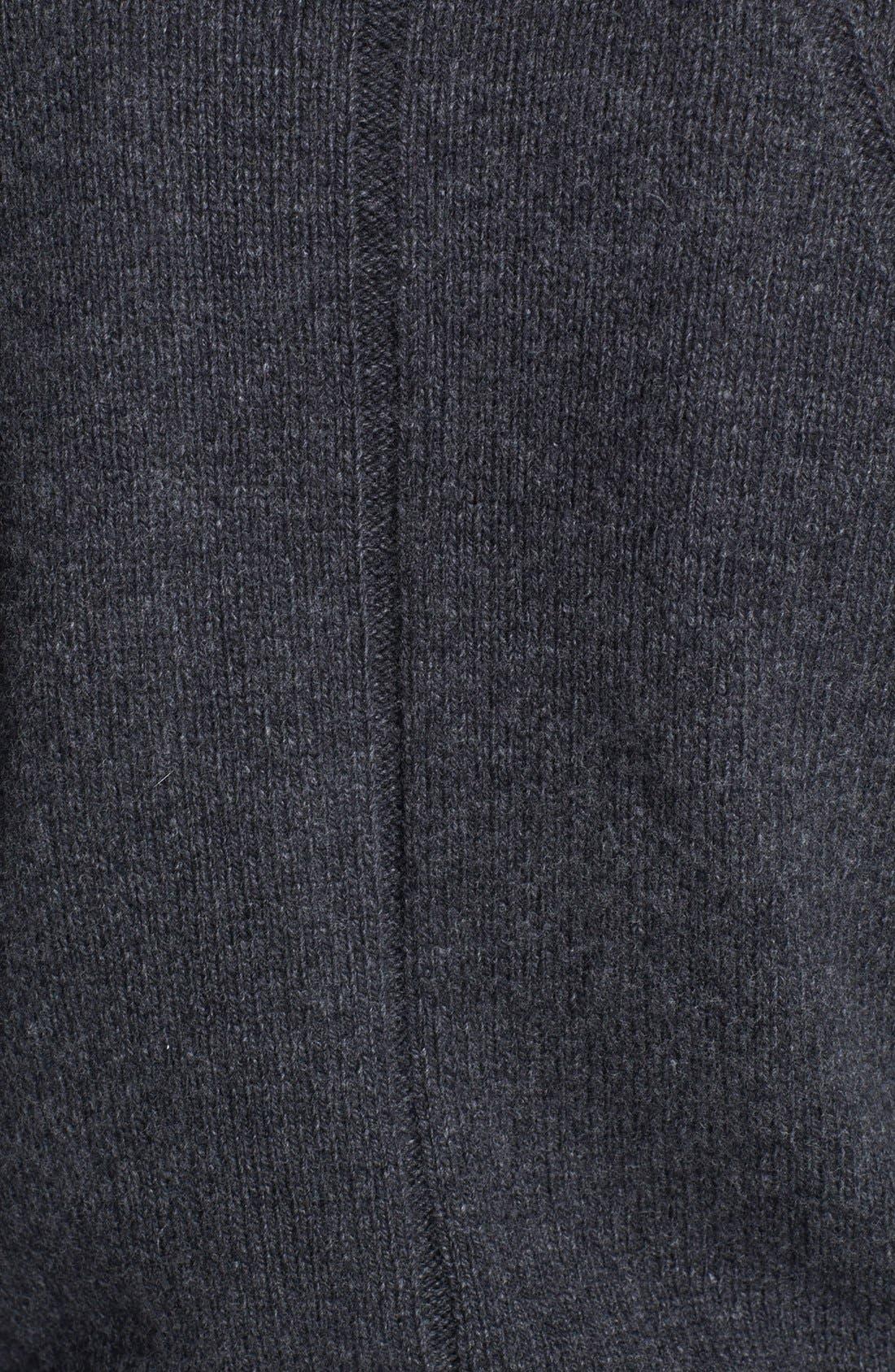 Alternate Image 3  - Diane von Furstenberg 'Cortina' Genuine Rabbit Fur Front Cardigan