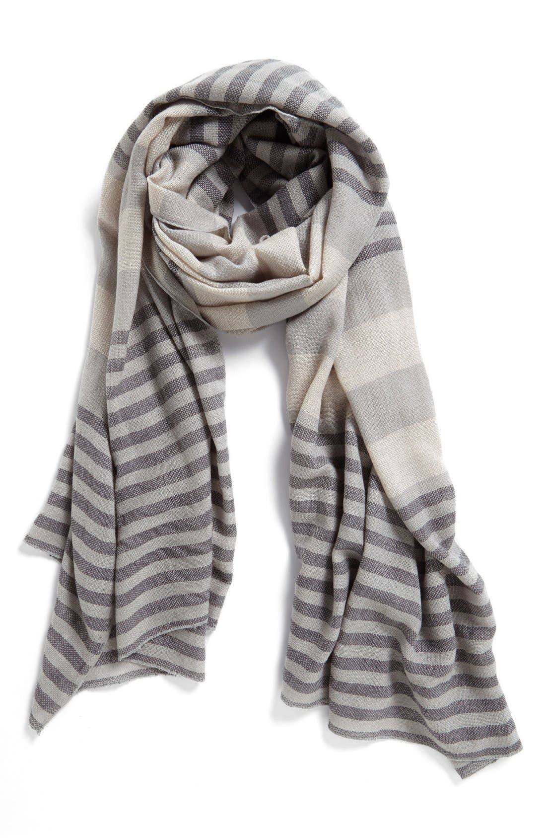 Alternate Image 1 Selected - Michael Stars 'Cozy Stripe' Scarf