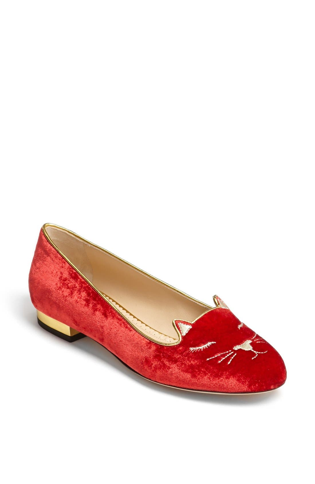 Alternate Image 1 Selected - Charlotte Olympia 'Sleeping Kitty' Flat