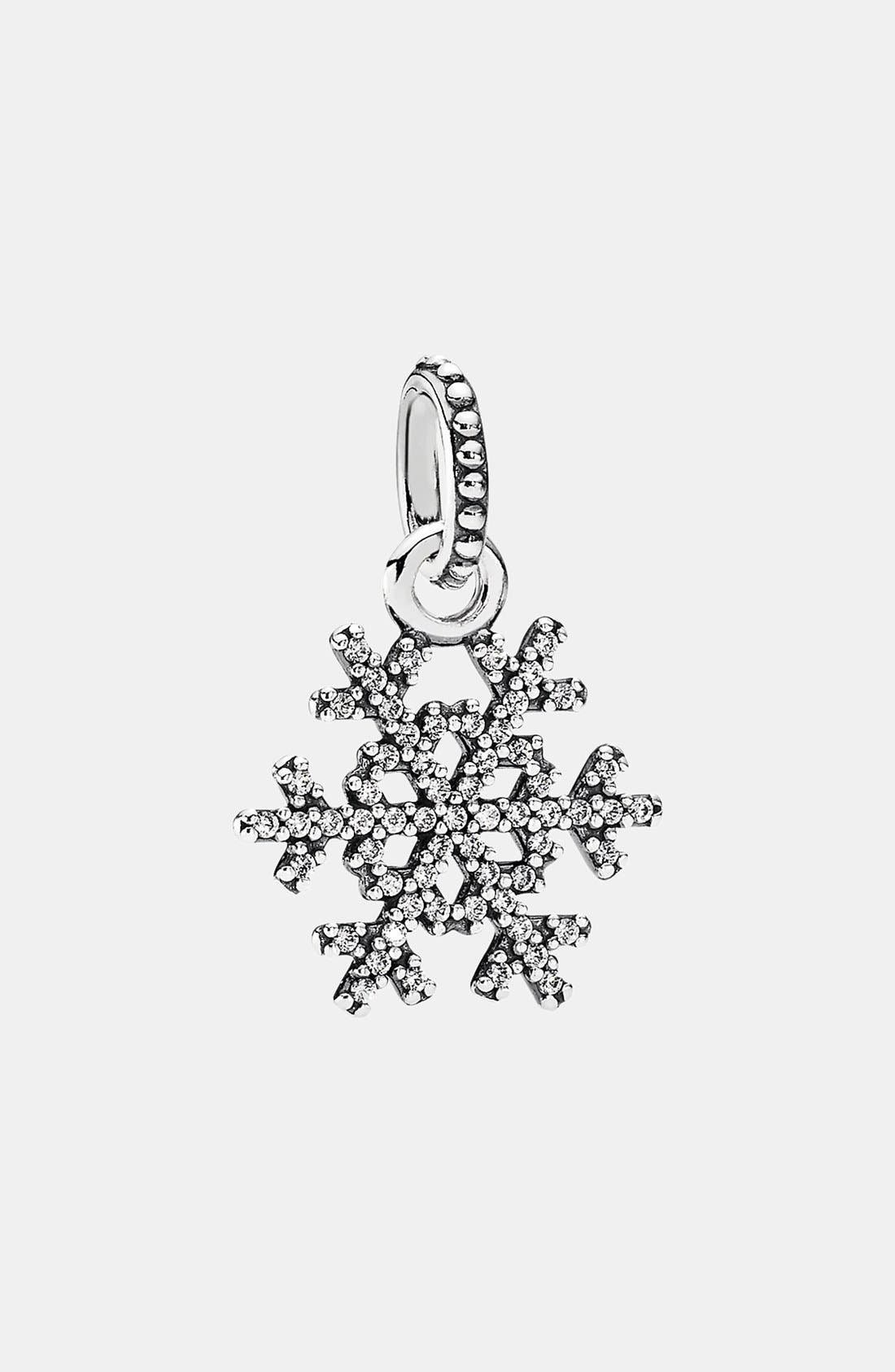 Alternate Image 1 Selected - PANDORA 'Winter Kiss' Dangle Charm