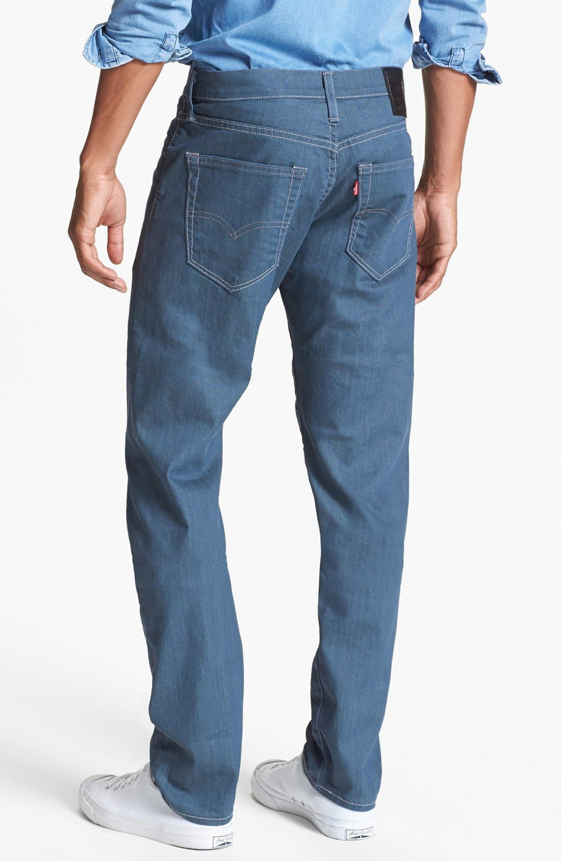 Main Image - Levi's® '508™' Skinny Fit Jeans (Nebula)