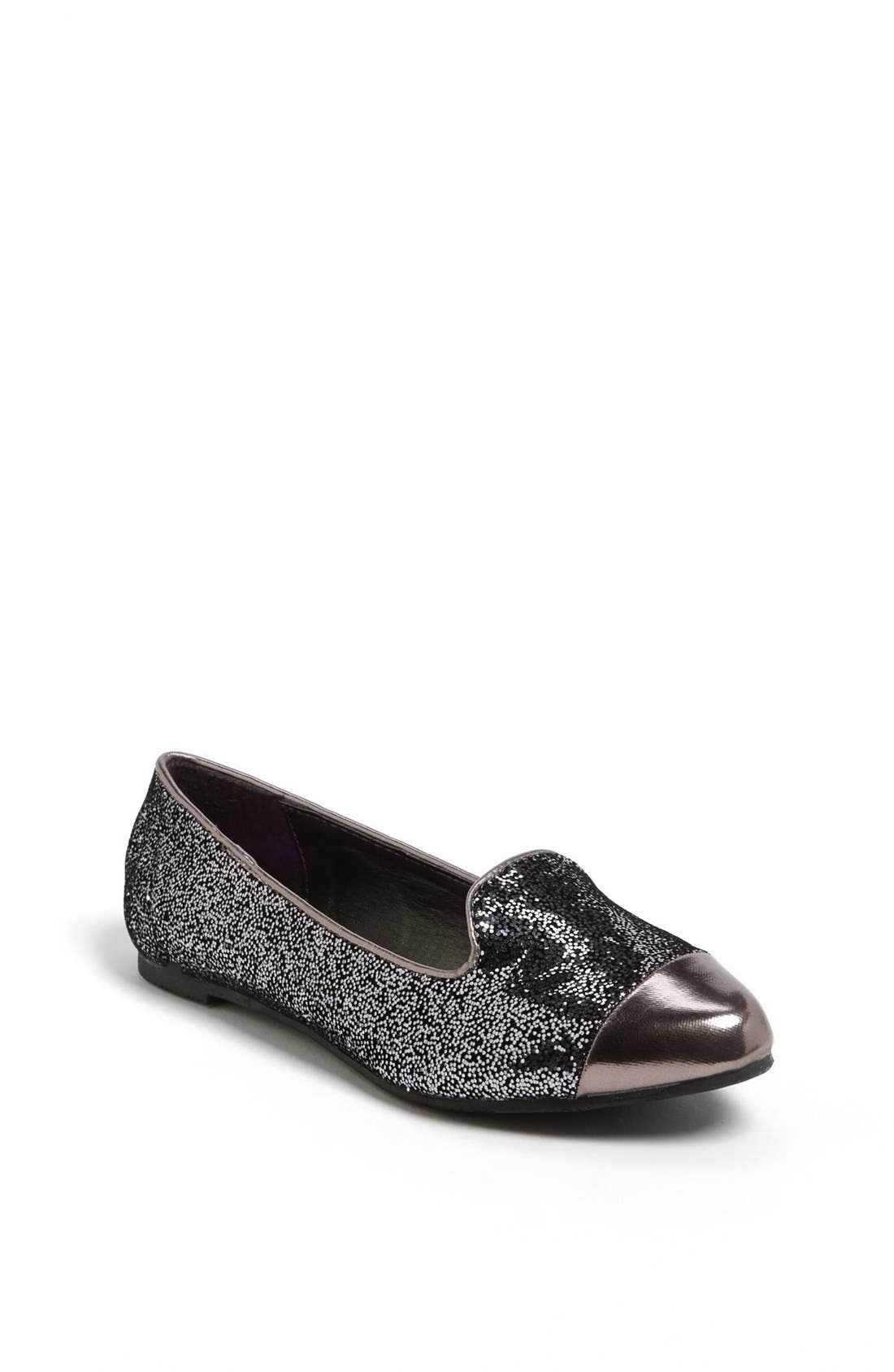 Alternate Image 1 Selected - kensie girl Glitter Flat (Toddler, Little Kid & Big Kid)