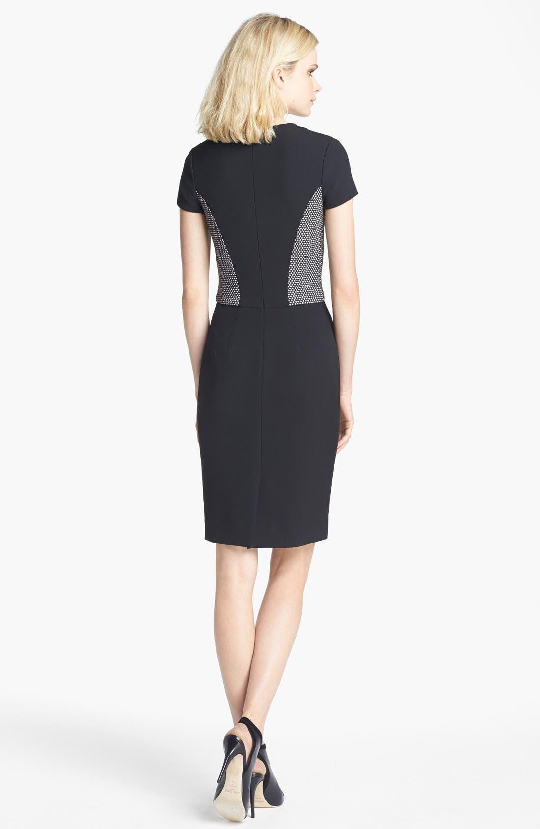 Alternate Image 2  - L'AGENCE Fabric Block Dress