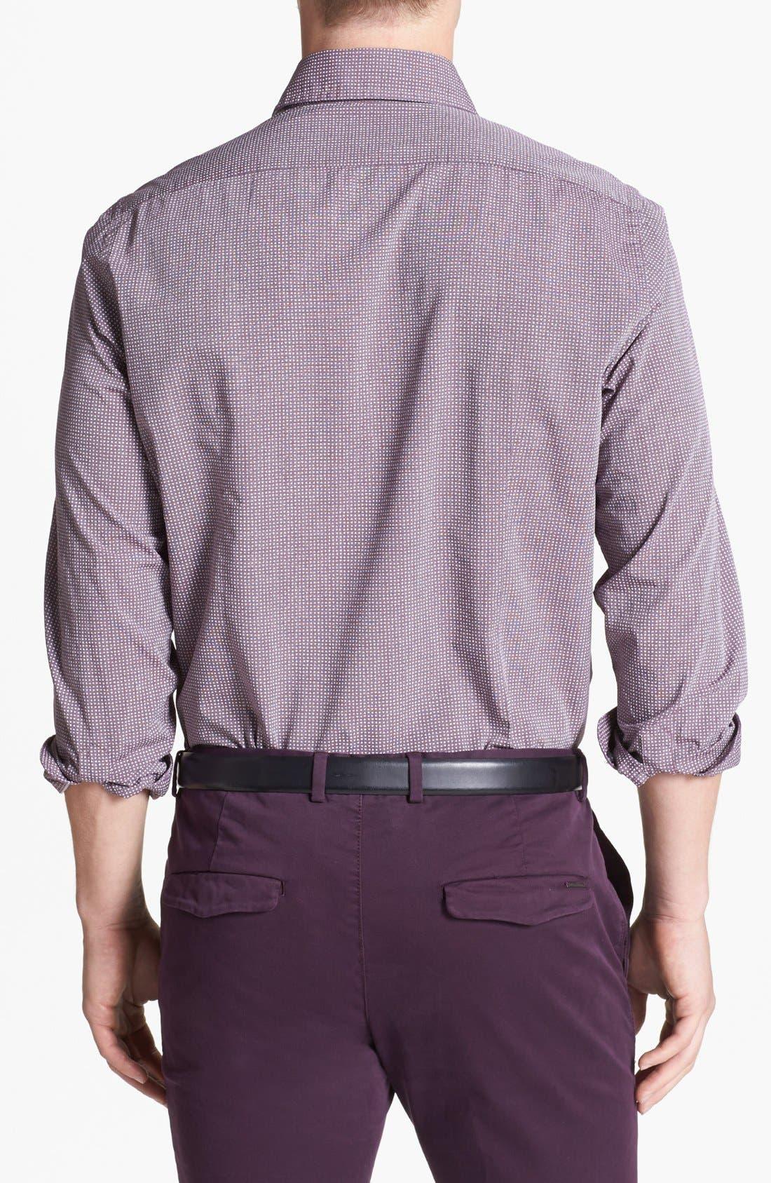 Alternate Image 2  - BOSS HUGO BOSS 'Sean' Slim Fit Sport Shirt