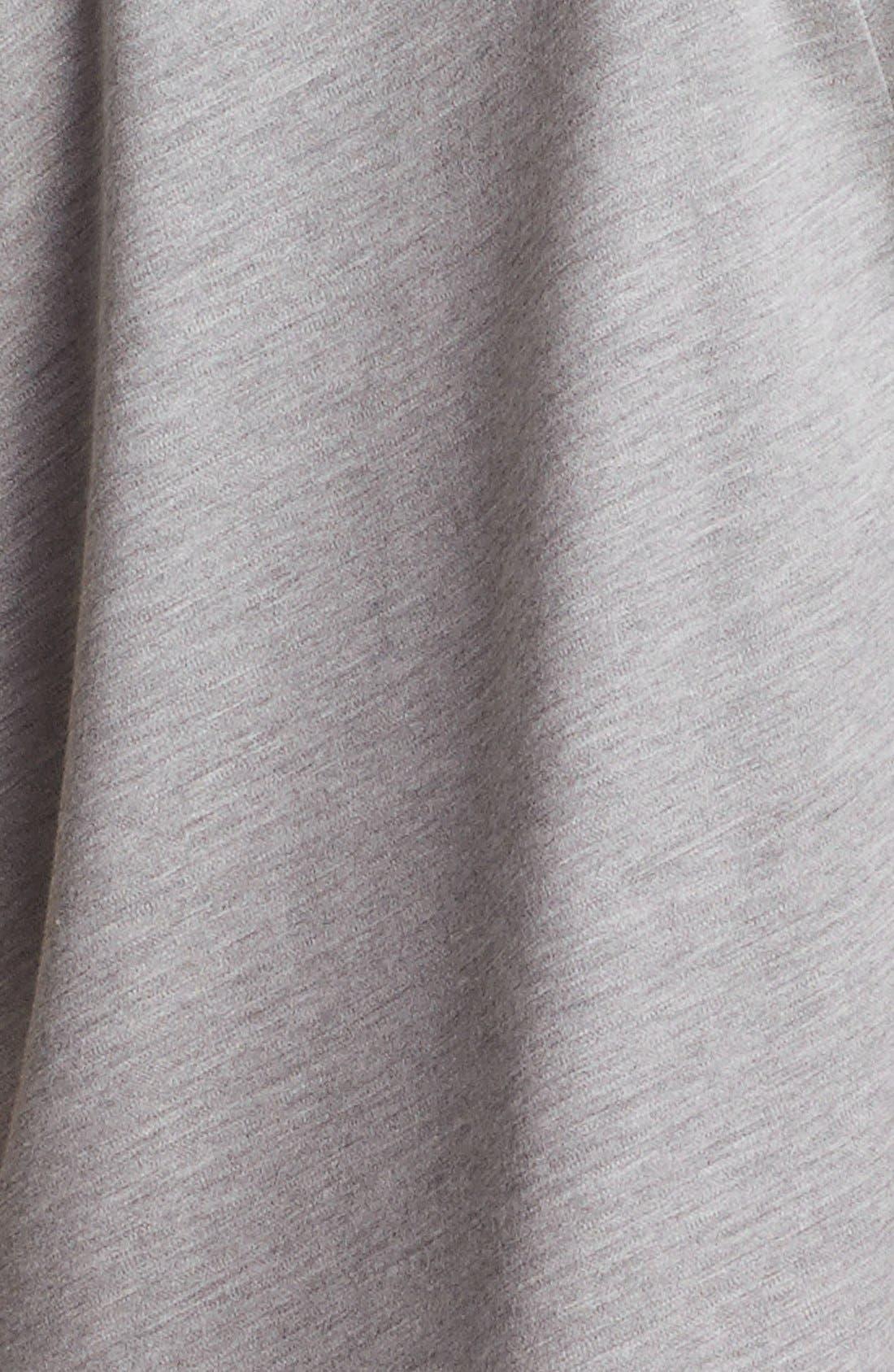 Alternate Image 4  - Alexander Wang Asymmetrical Mélange Jersey Tee