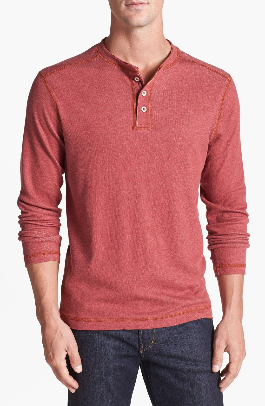 Alternate Image 1 Selected - Tommy Bahama Denim 'Quick Draw' Island Modern Fit Henley
