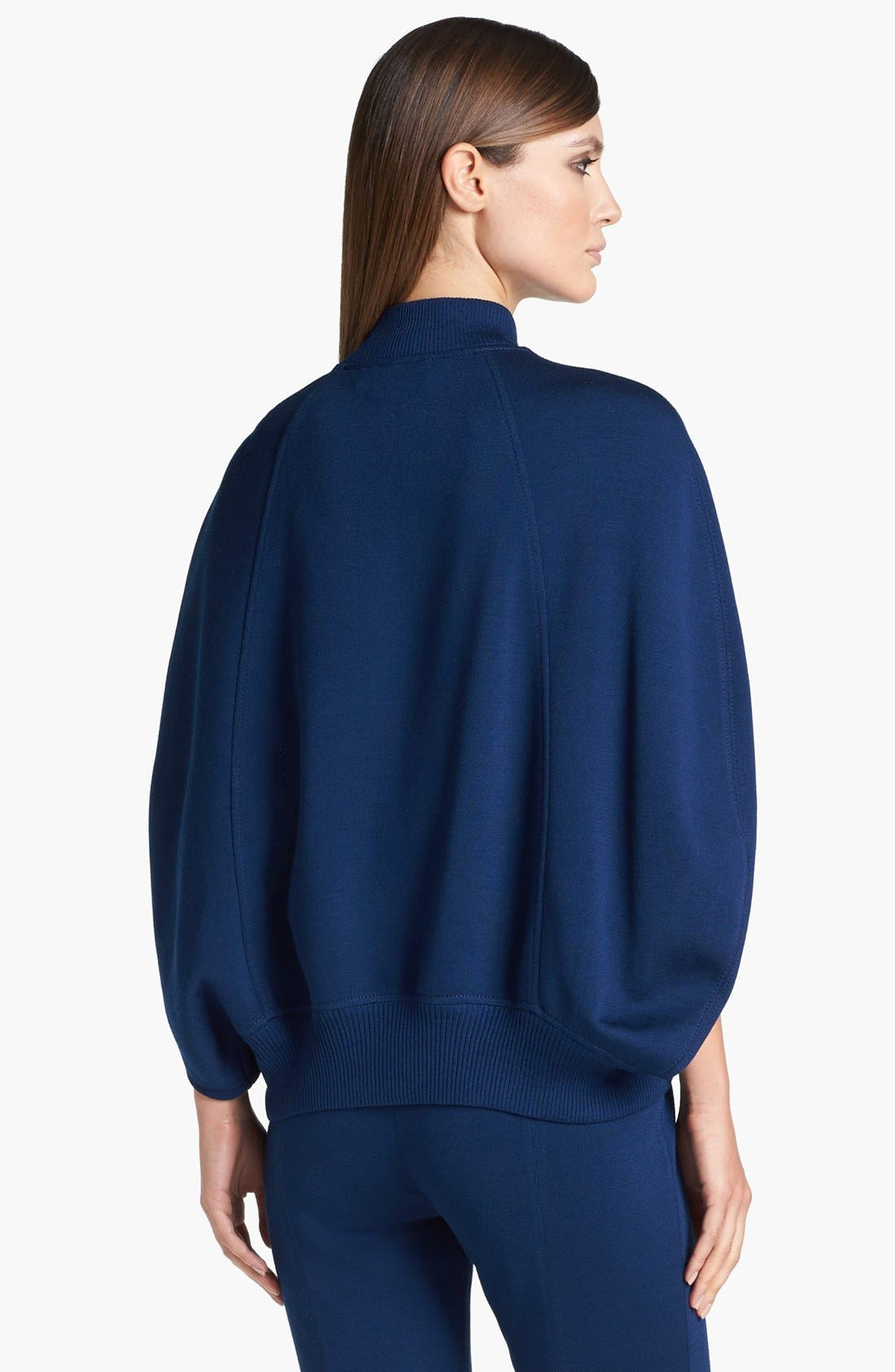 Alternate Image 4  - St. John Collection Milano Knit Cape Jacket