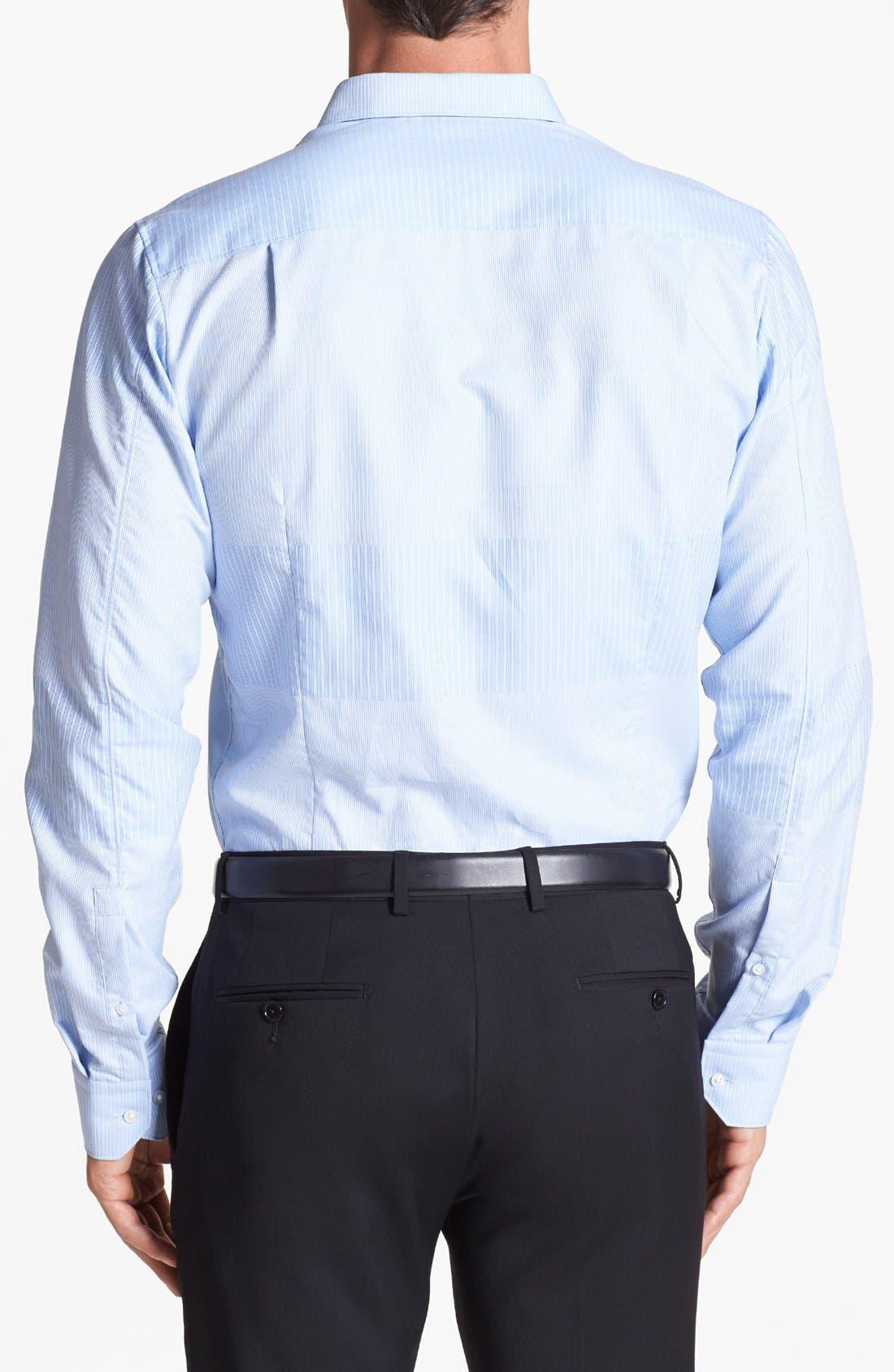 Alternate Image 2  - HUGO 'Elisha' Trim Fit Sport Shirt