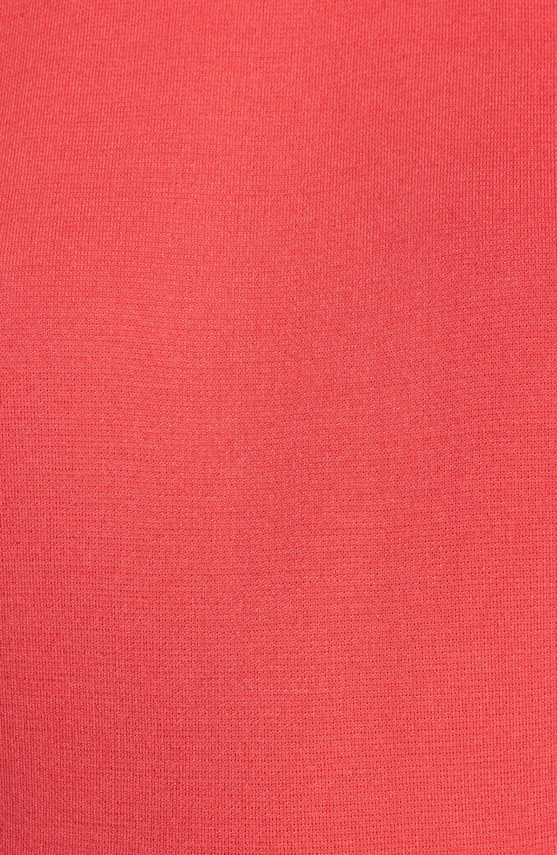 Alternate Image 5  - St. John Collection Cap Sleeve Milano Knit Peplum Top