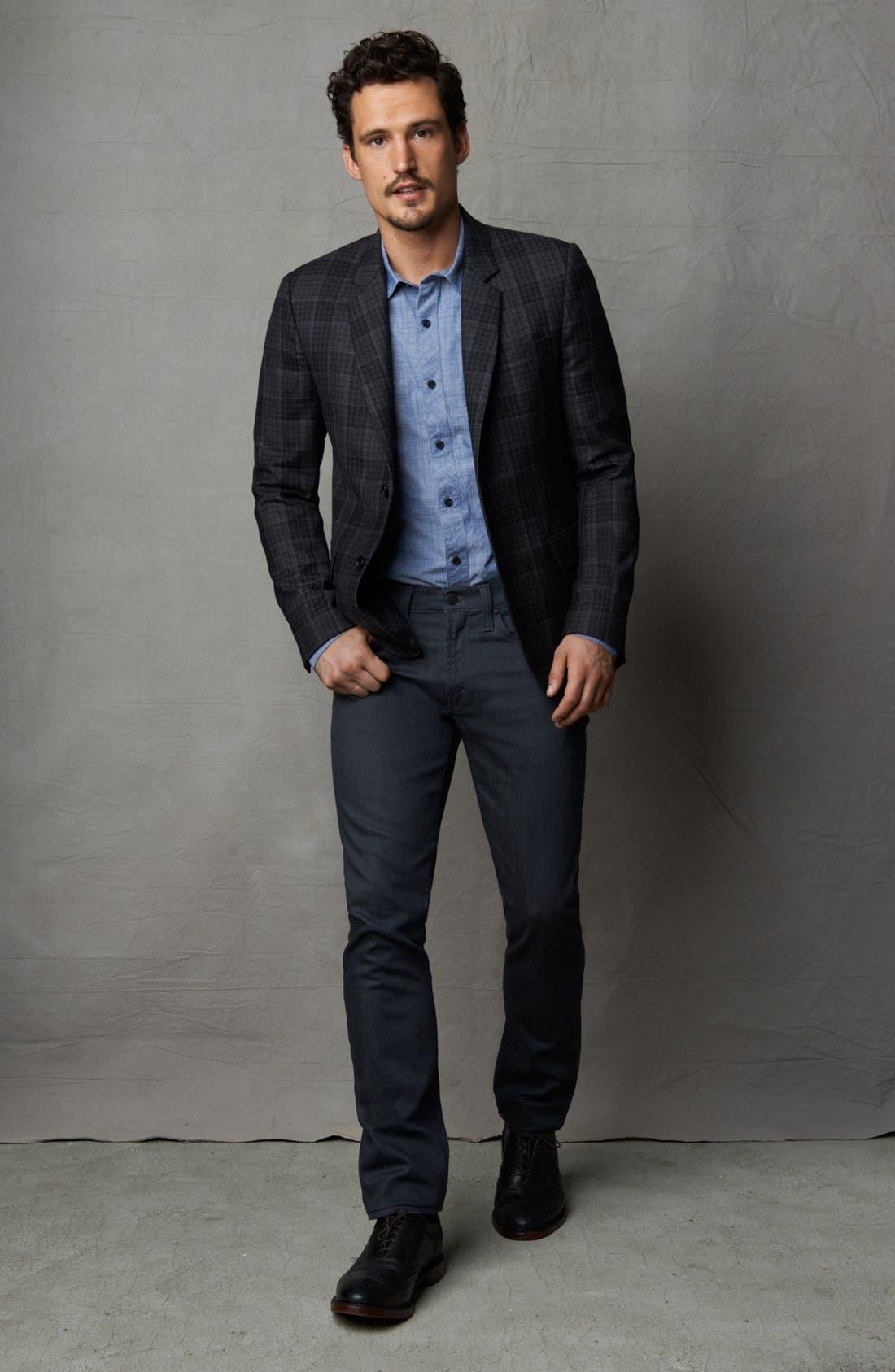 Alternate Image 6  - J Brand Tyler Slim Fit Jeans (Slate Resin)