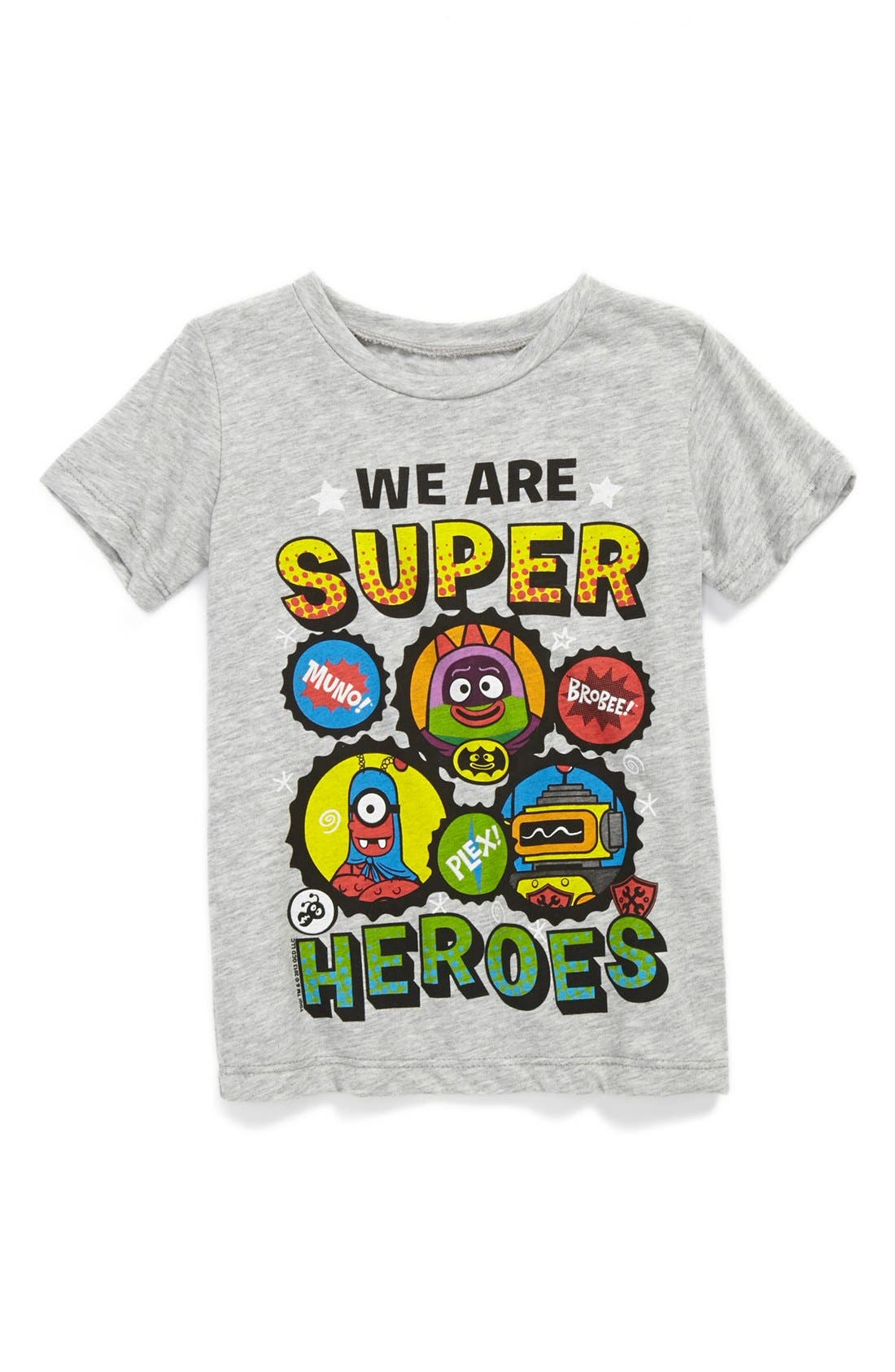 Alternate Image 1 Selected - Mighty Fine 'We Are Super Heroes' T-Shirt (Baby Boys)