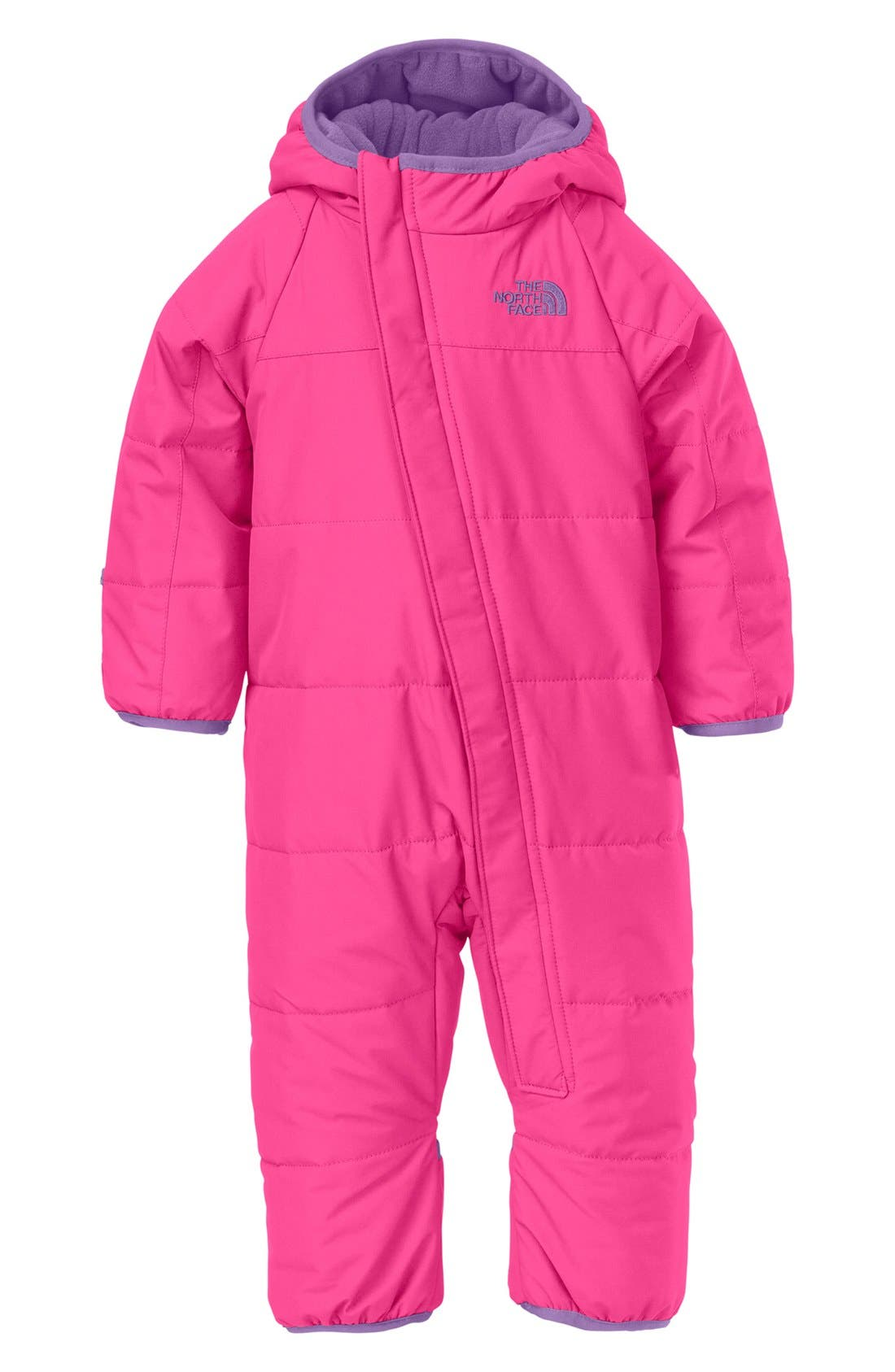 Main Image - The North Face 'Toasty Toes' Bunting (Baby Girls)