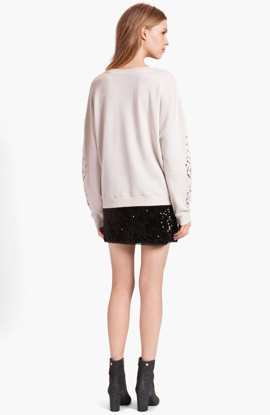 Alternate Image 3  - Zadig & Voltaire 'Sunny' Skull Embellished Sweatshirt