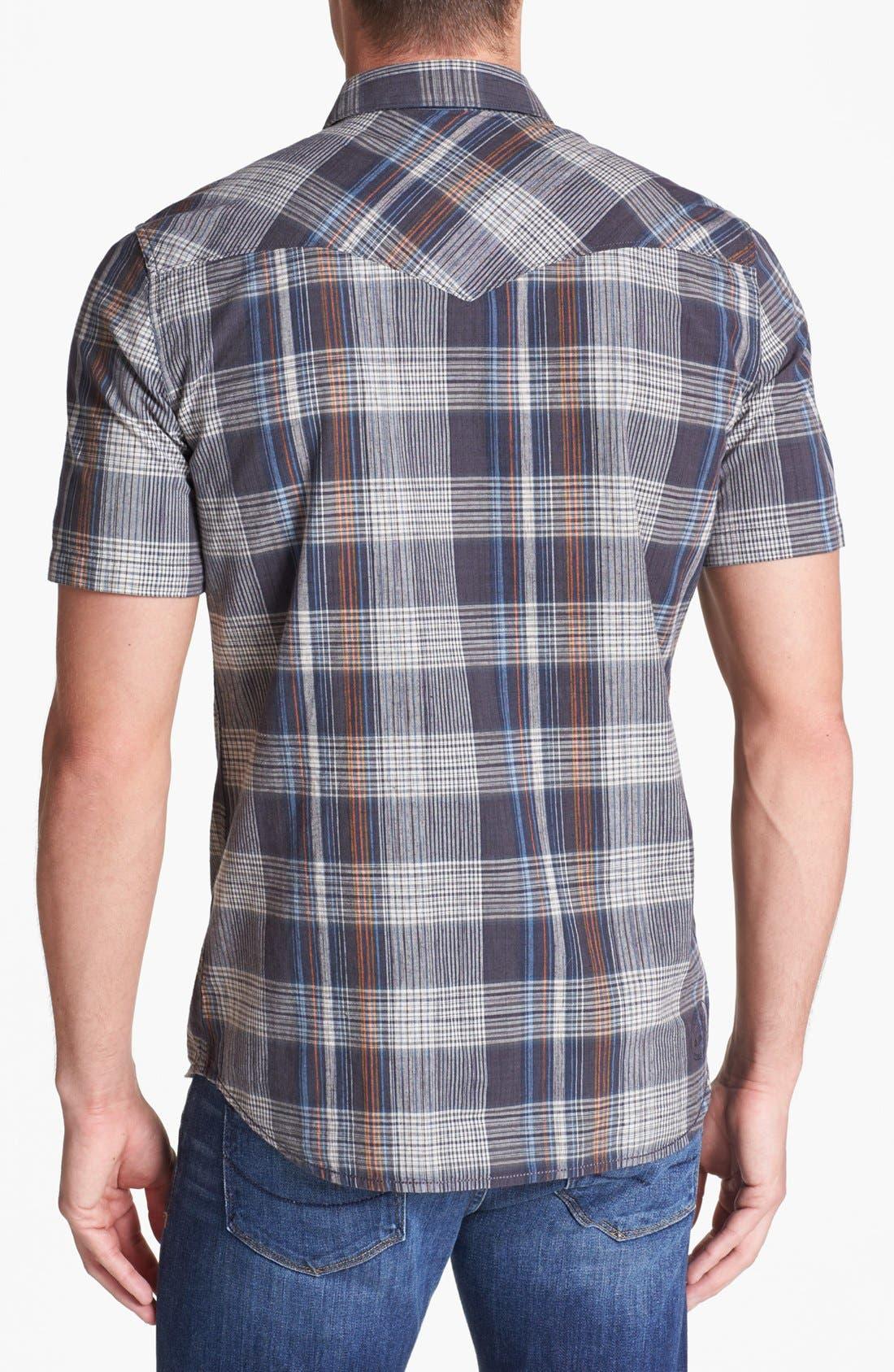 Alternate Image 3  - Vans 'Windsor' Plaid Woven Shirt