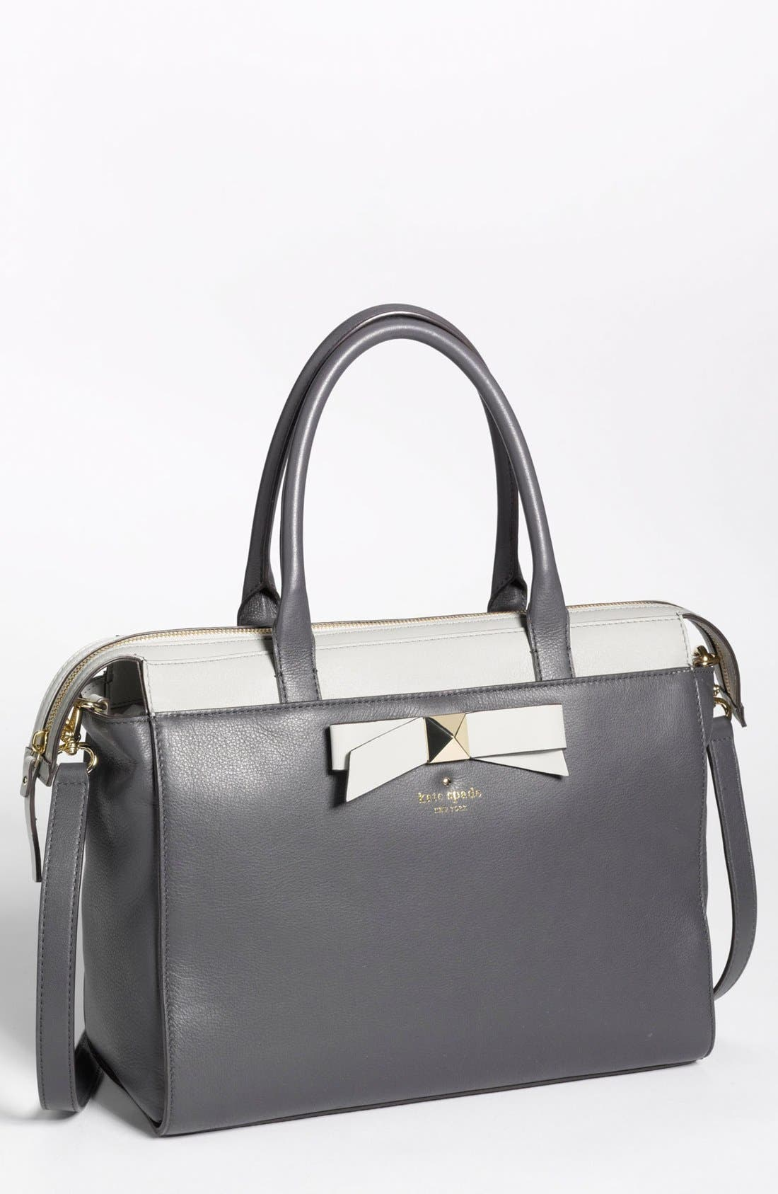 Main Image - kate spade new york 'hancock park - jeanne' leather satchel, medium