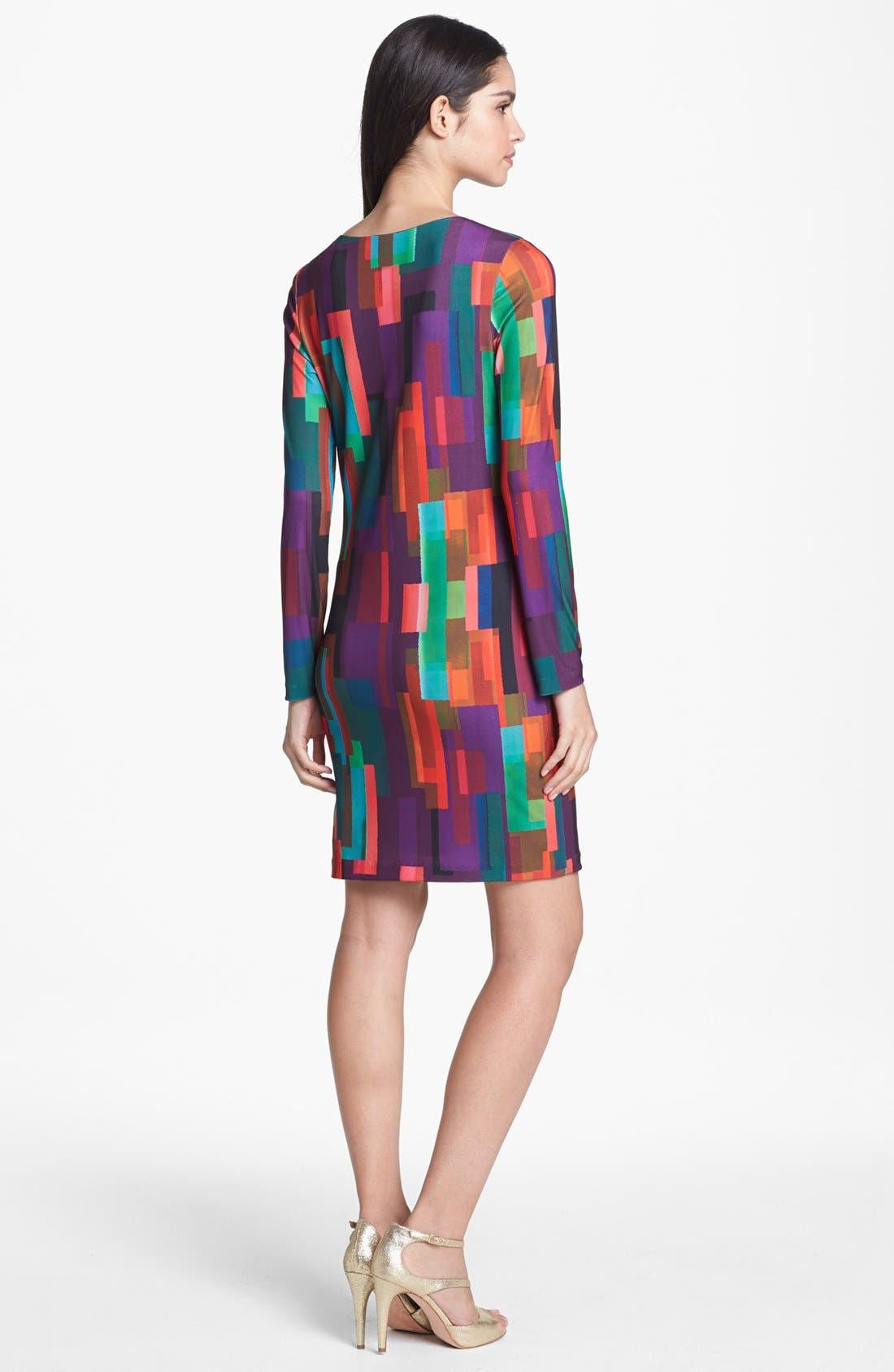 Alternate Image 2  - Trina Turk 'Neva' Print Jersey Shift Dress