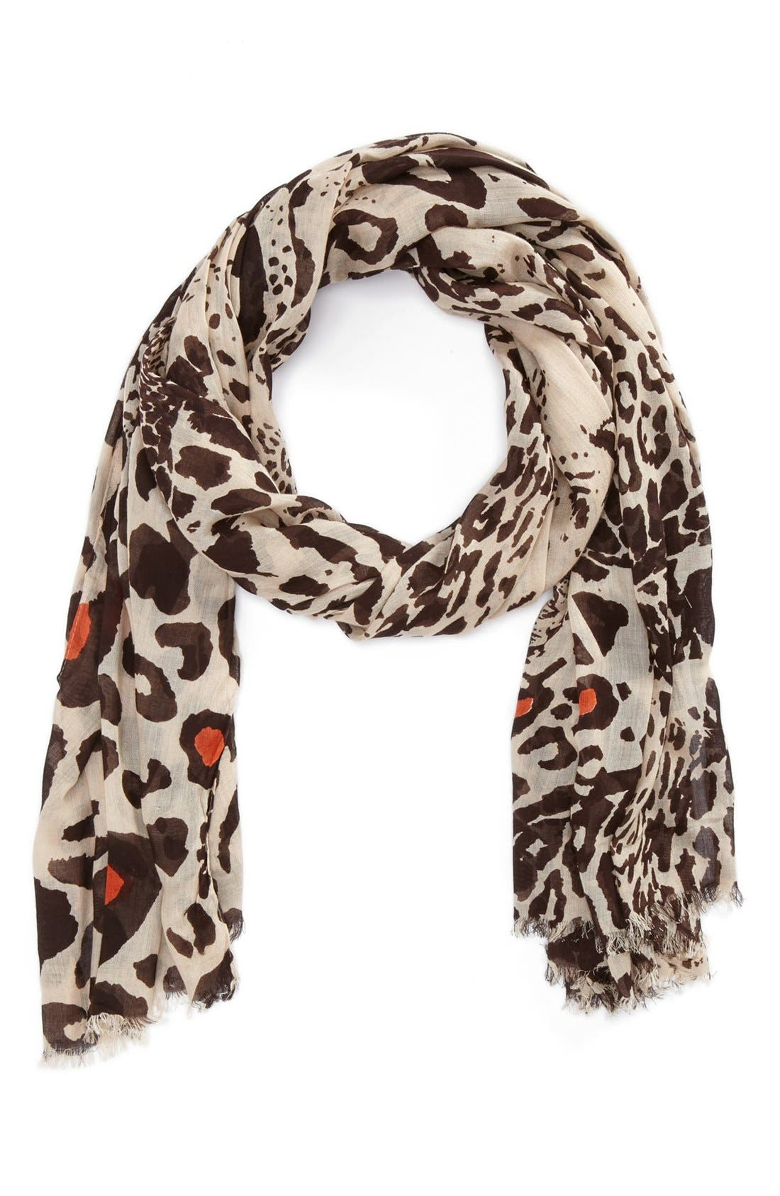Alternate Image 1 Selected - Lulla Collection by Bindya 'Dancing Leopard' Scarf