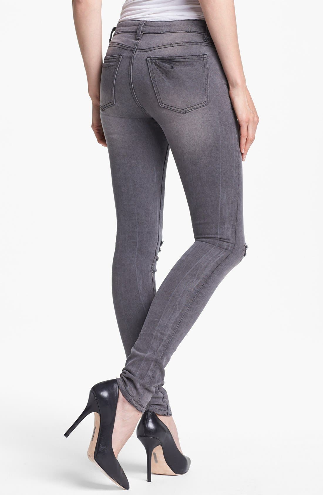 Alternate Image 2  - KUT from the Kloth 'Mia' Stretch Skinny Jeans (Simulating)