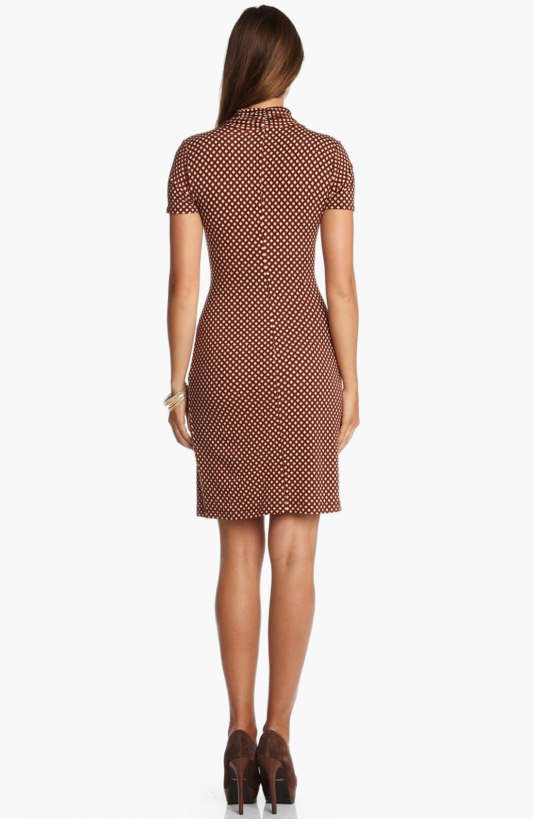 Alternate Image 2  - Karen Kane 'Spice Market' Faux Wrap Dress