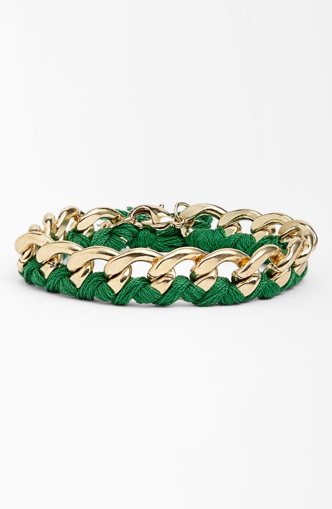 Main Image - Stephan & Co. Thread & Chain Bracelet (Juniors)