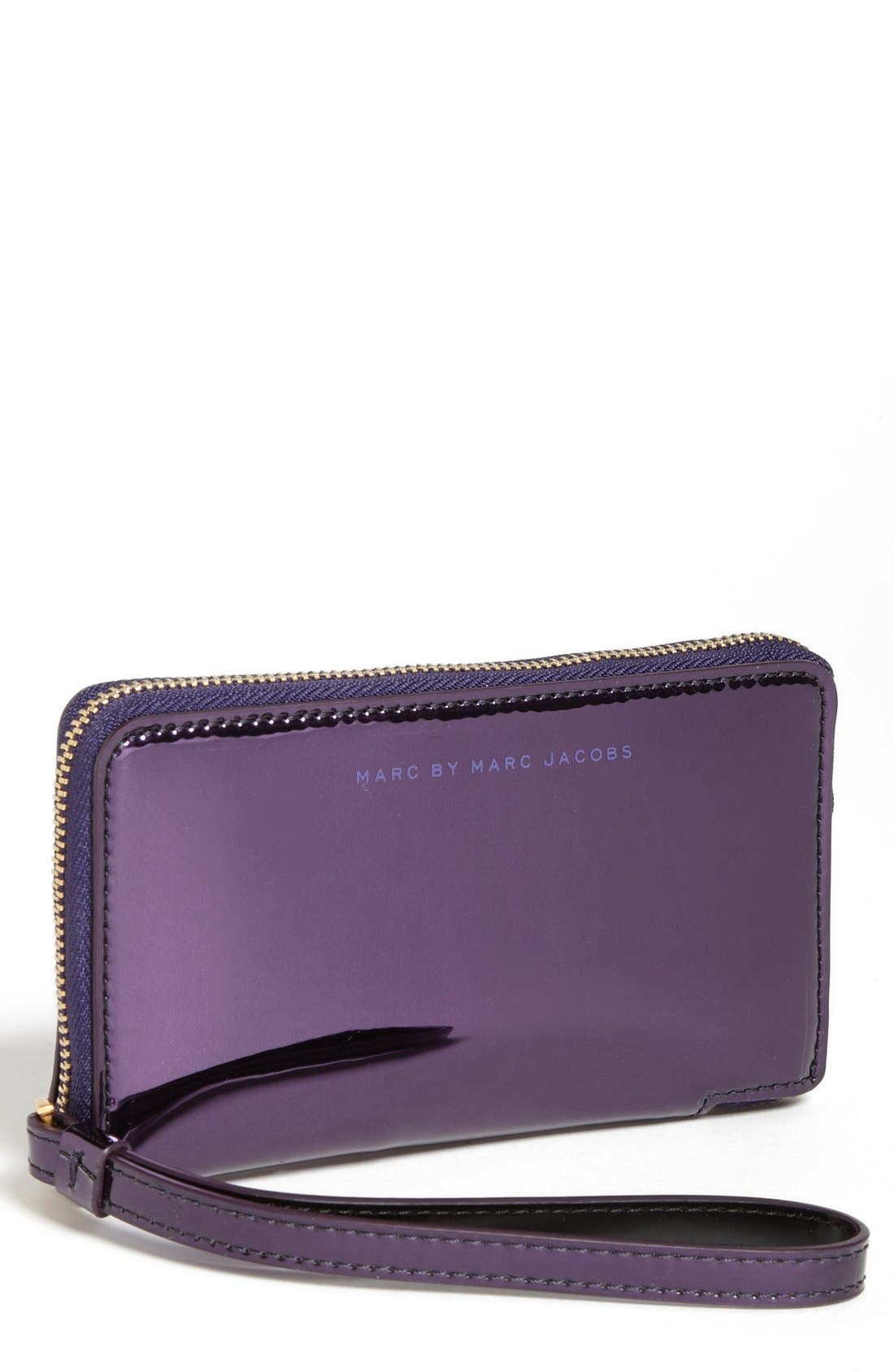 Alternate Image 1 Selected - MARC BY MARC JACOBS 'Techno - Wingman' iPhone Wristlet