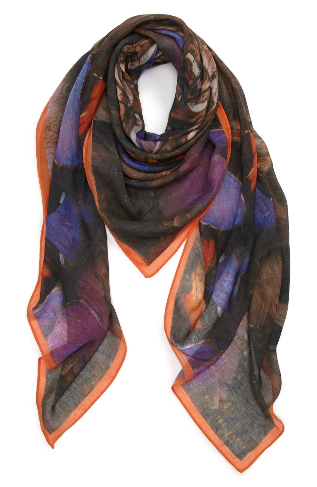 Alternate Image 1 Selected - Ted Baker London 'Butterfly' Square Scarf