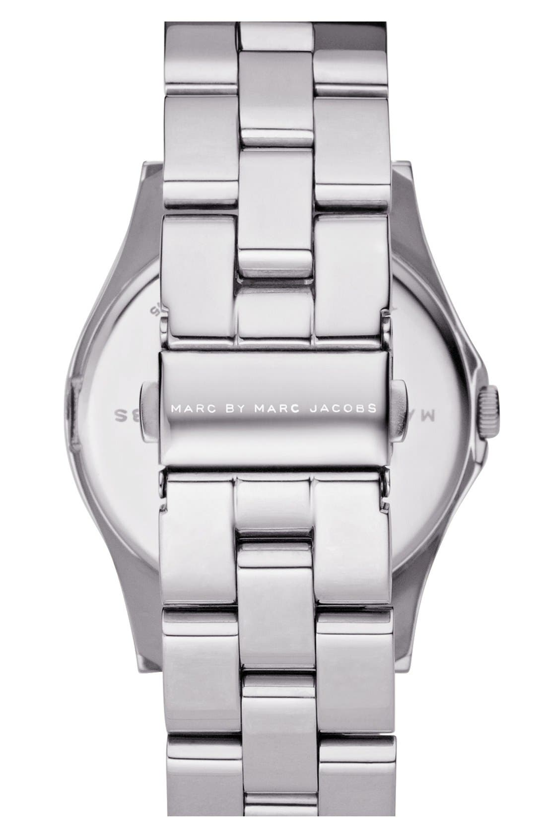 Alternate Image 2  - MARC JACOBS 'Henry' Stainless Steel Watch