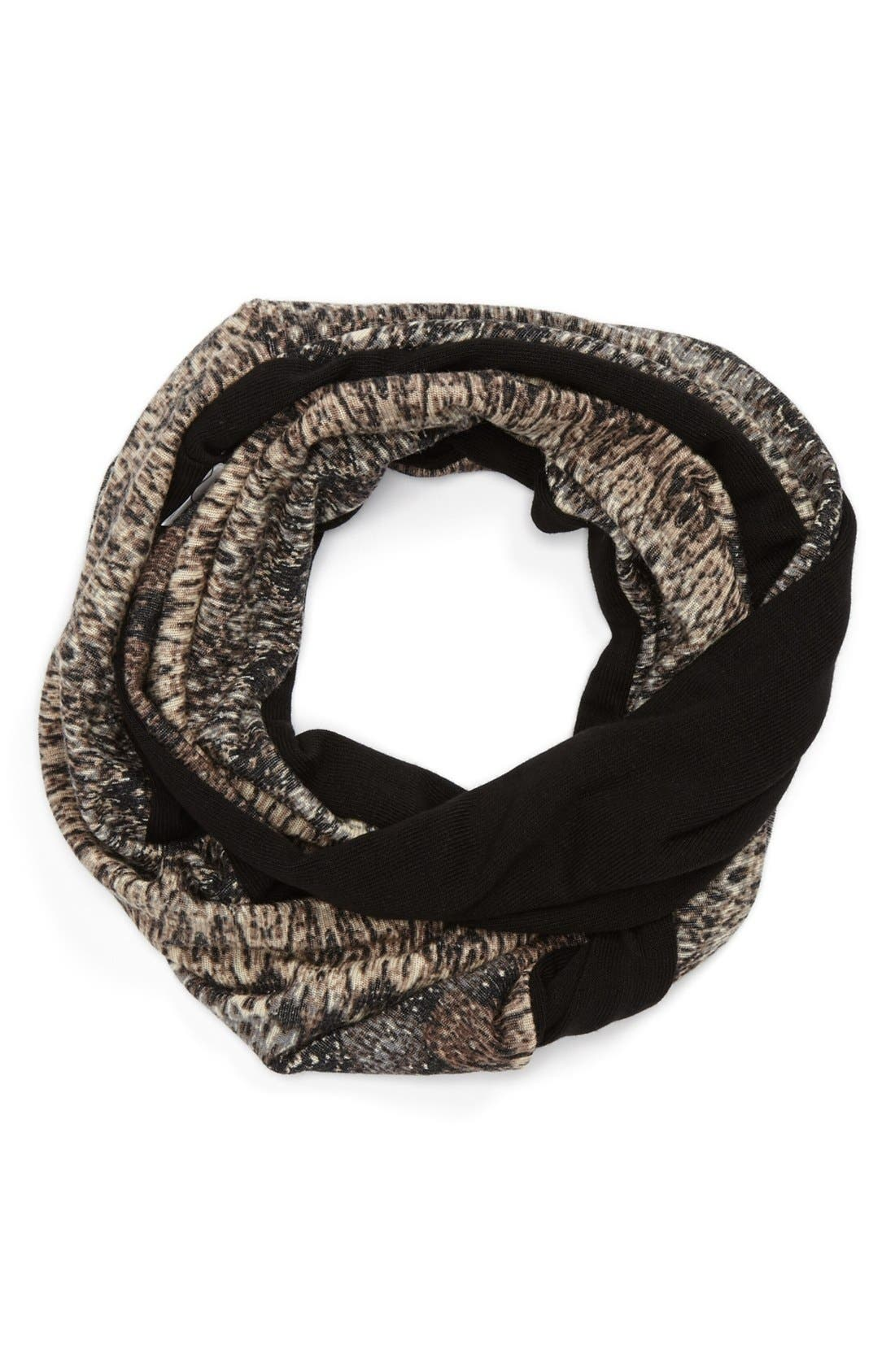 Alternate Image 1 Selected - Nordstrom Print Infinity Scarf