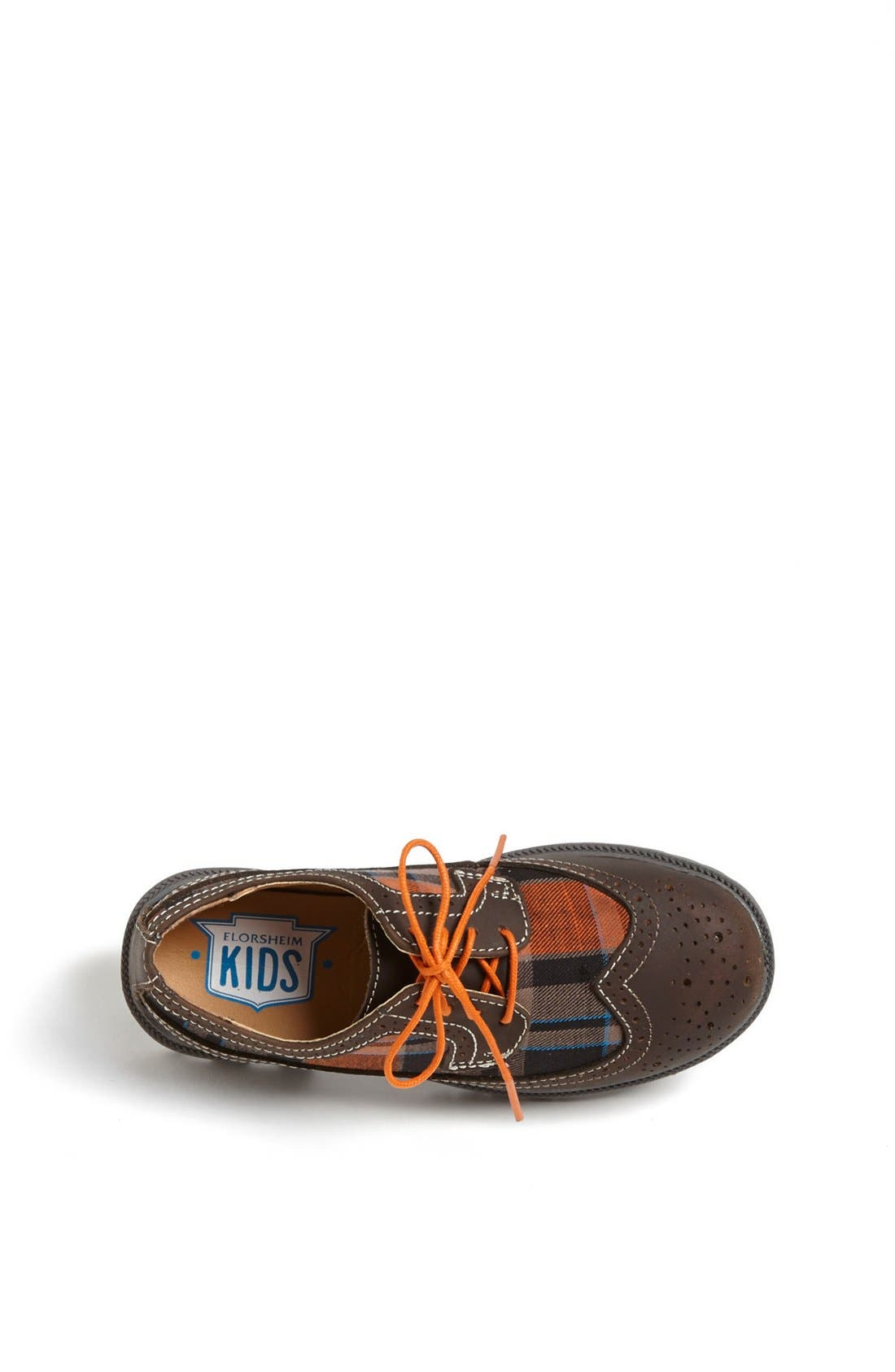 Alternate Image 3  - Florsheim 'Valco Jr.' Wingtip Oxford (Toddler, Little Kid & Big Kid)
