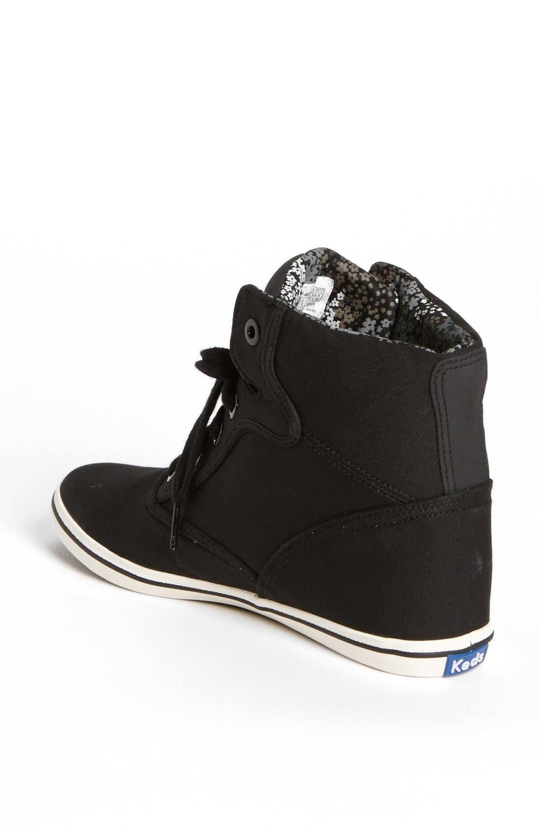 Alternate Image 2  - Keds® 'Rookie' Wedge High Top Sneaker (Women)