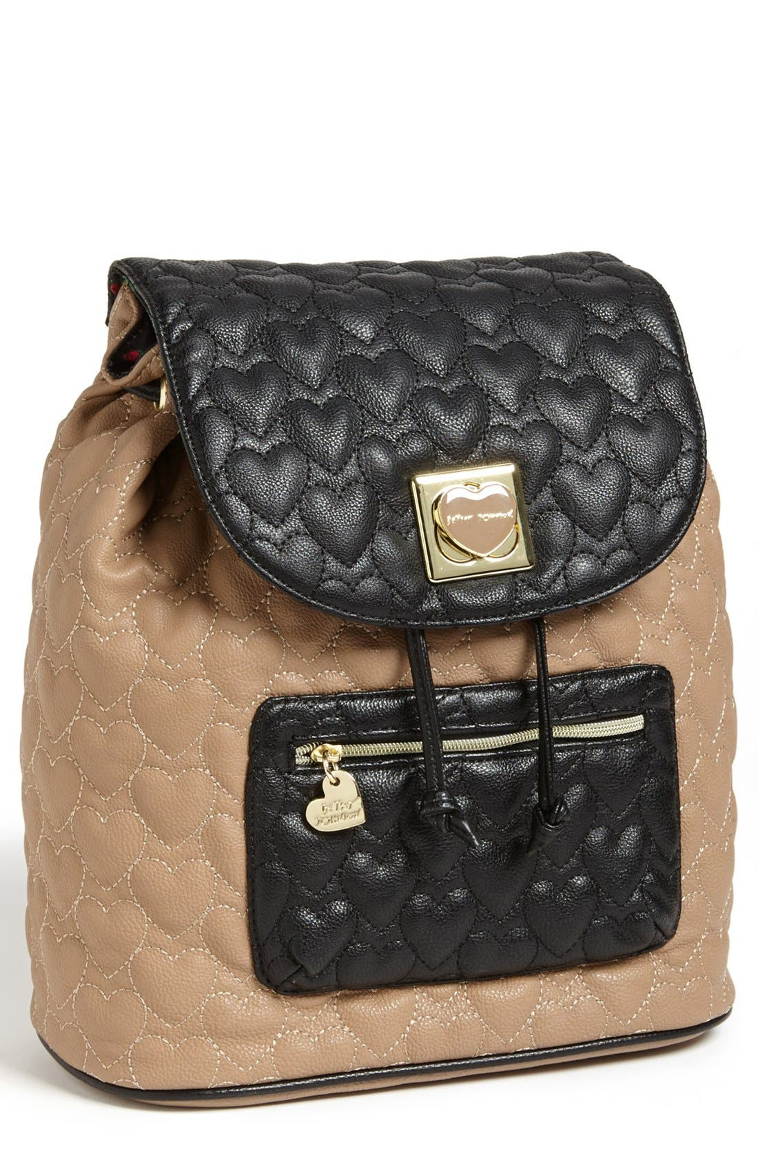 Main Image - Betsey Johnson 'Will You Be Mine' Backpack