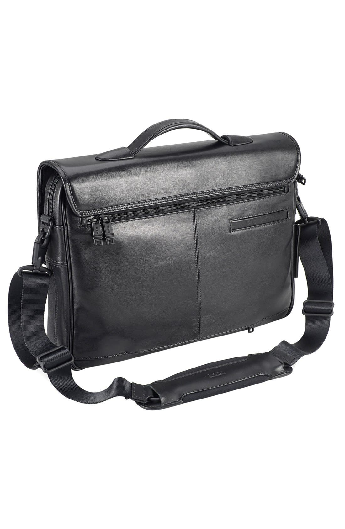 Alternate Image 2  - Tumi 'Alpha' Slim Flap Leather Briefcase