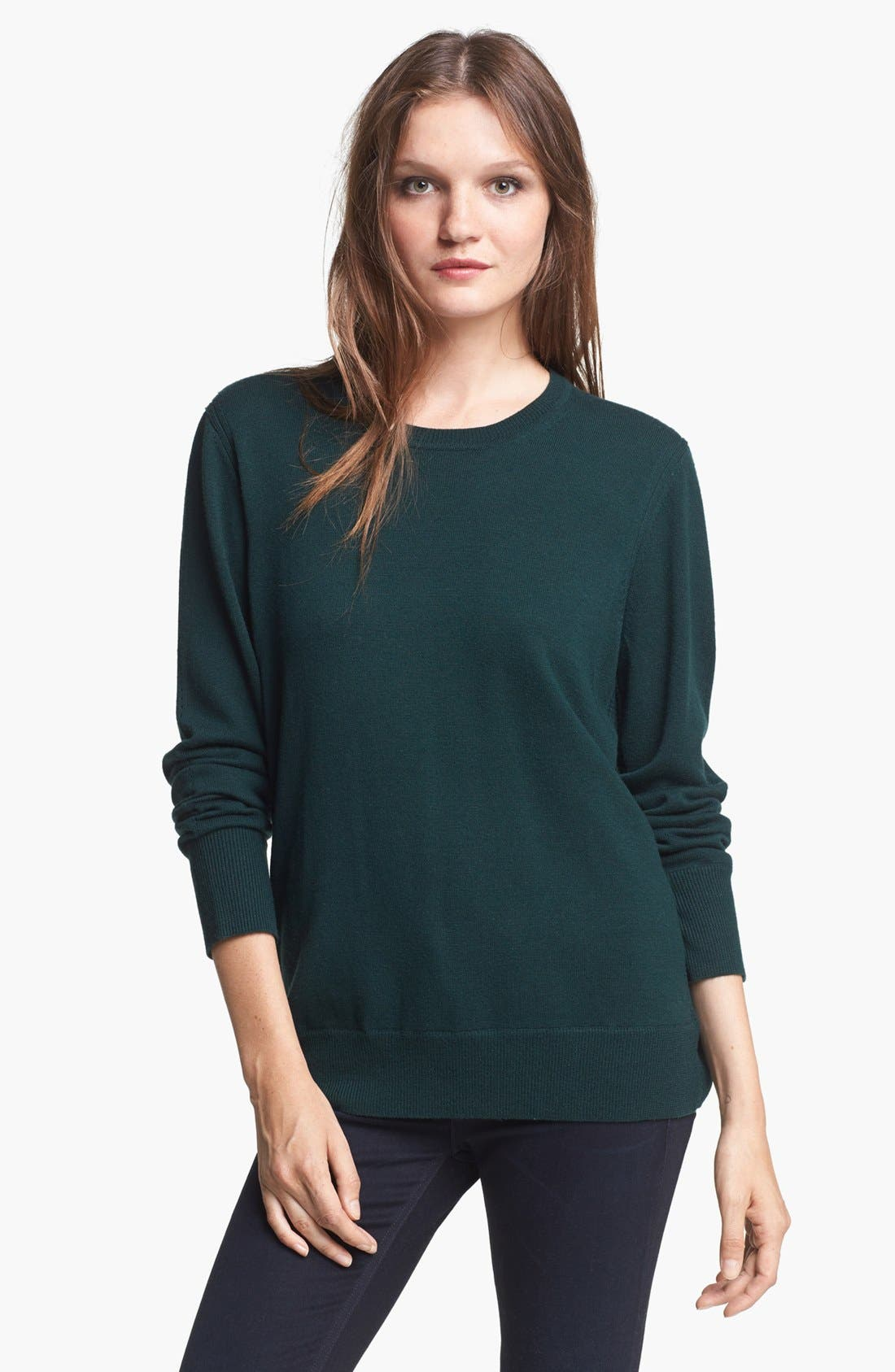 Alternate Image 1 Selected - rag & bone/JEAN 'Natalie' Merino Wool Sweater