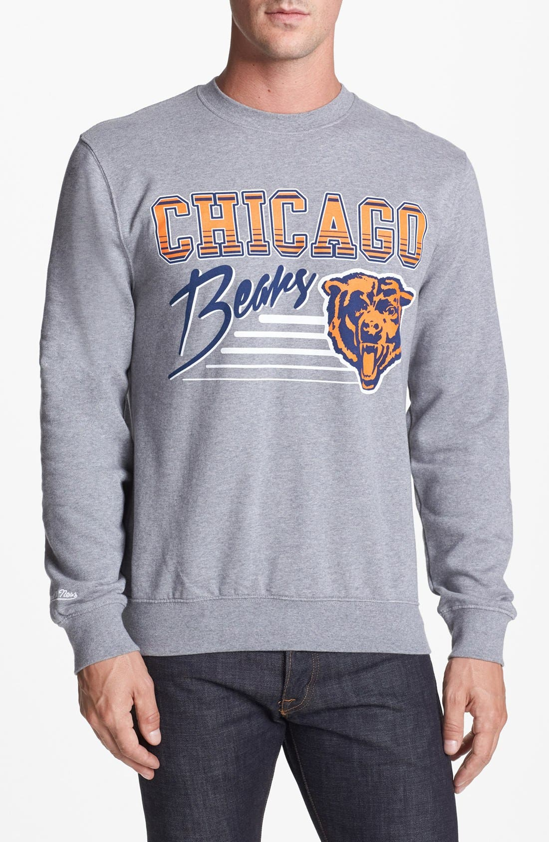 Alternate Image 1 Selected - Mitchell & Ness 'Chicago Bears' Sweatshirt