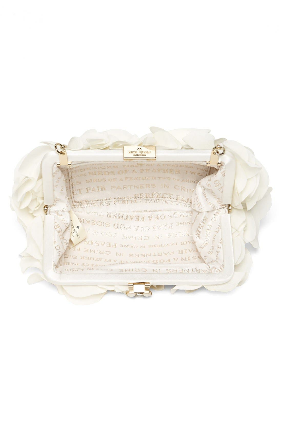 Alternate Image 3  - kate spade new york 'wedding belle - malley' clutch