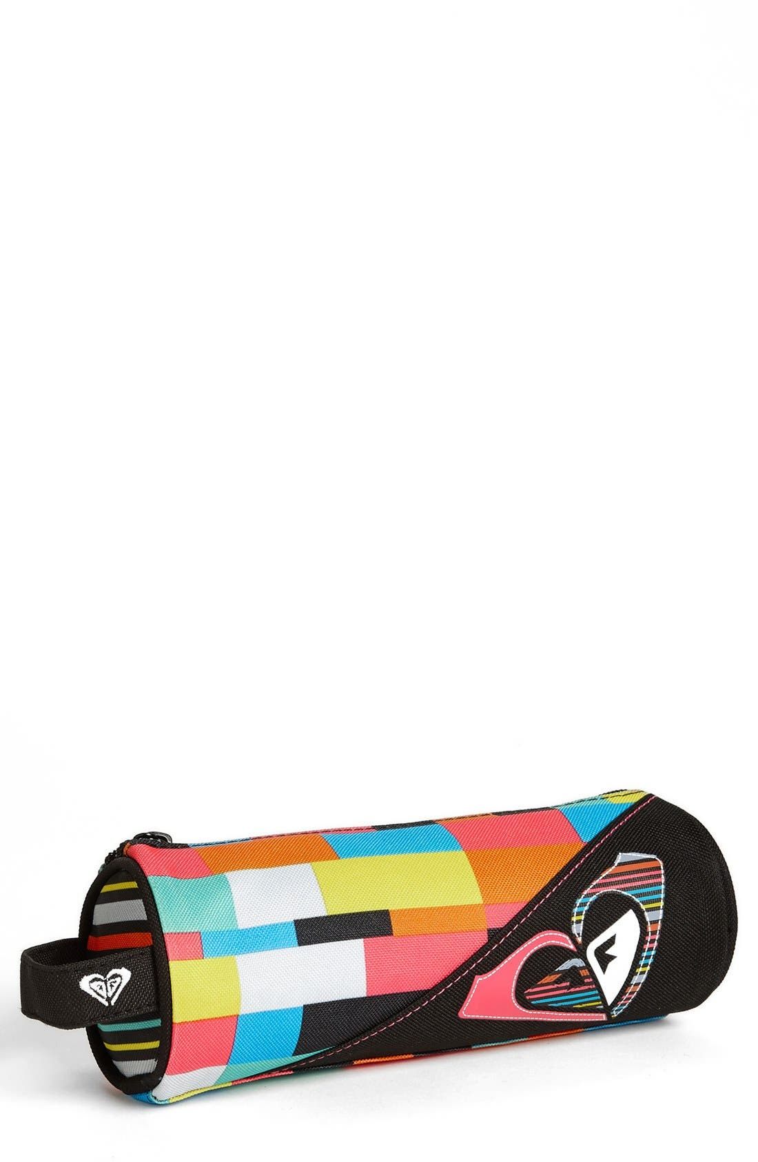 'Scribble' Pencil Case,                             Main thumbnail 1, color,                             Multi/ Black/ Pink/ Blue