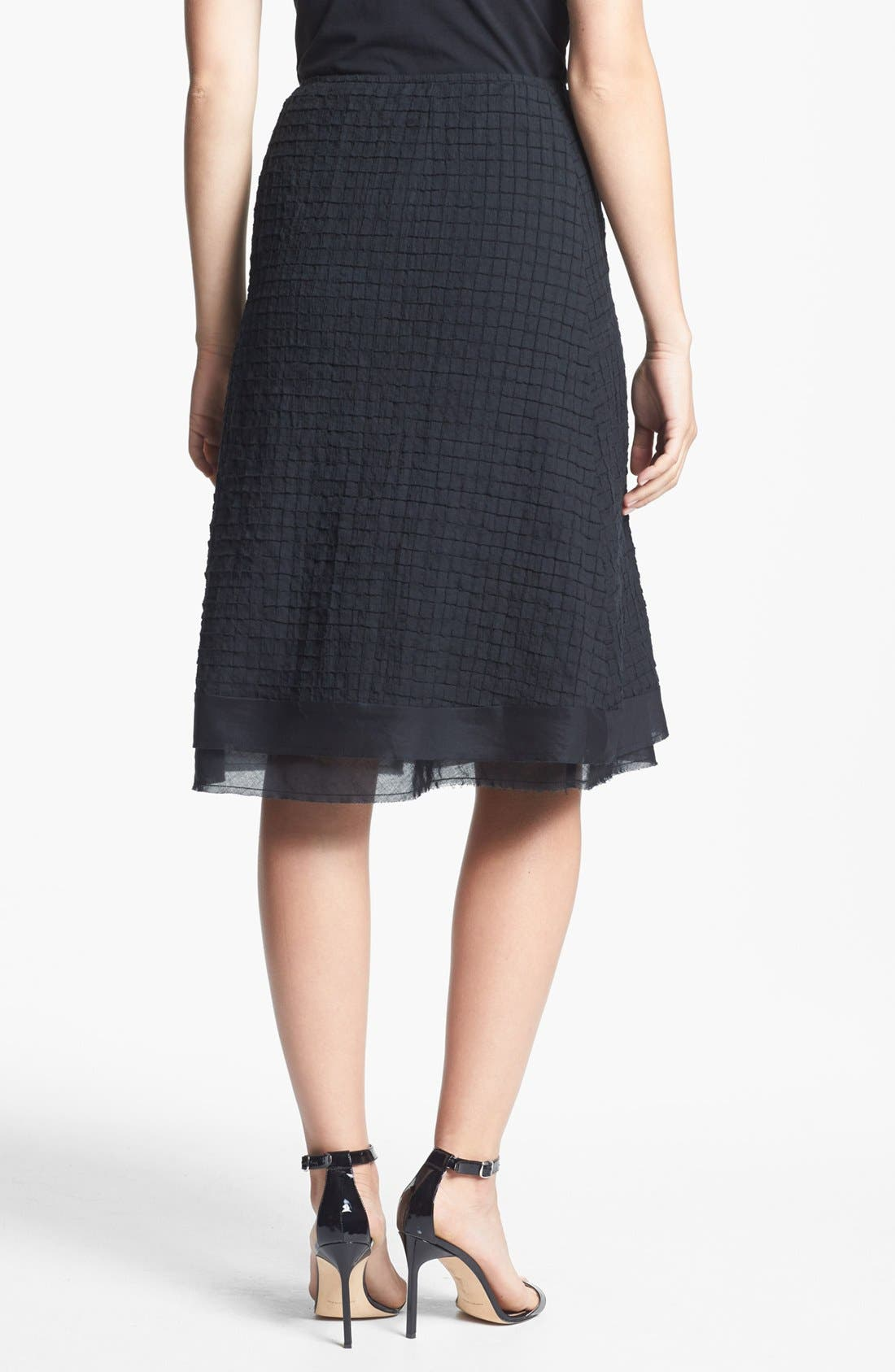 Alternate Image 2  - Eileen Fisher A-Line Skirt (Regular & Petite)