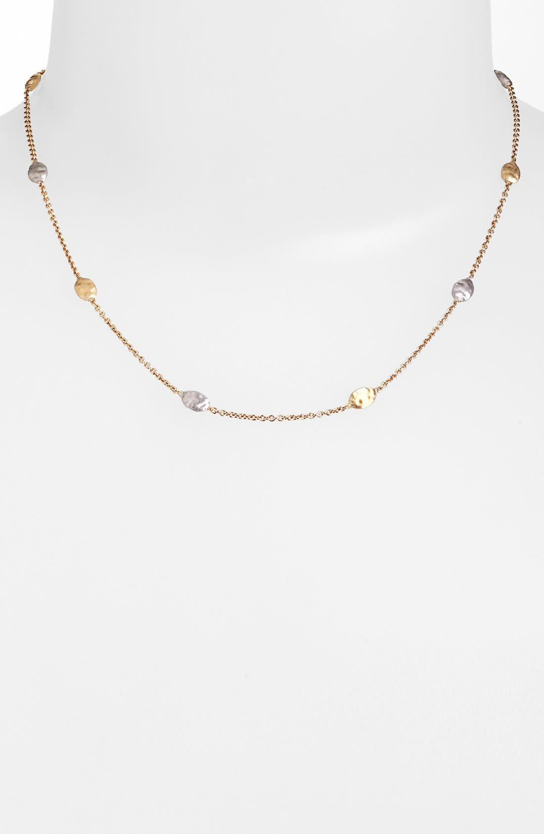 Alternate Image 1 Selected - Marco Bicego 'Siviglia' Two-Tone Necklace (Nordstrom Exclusive)
