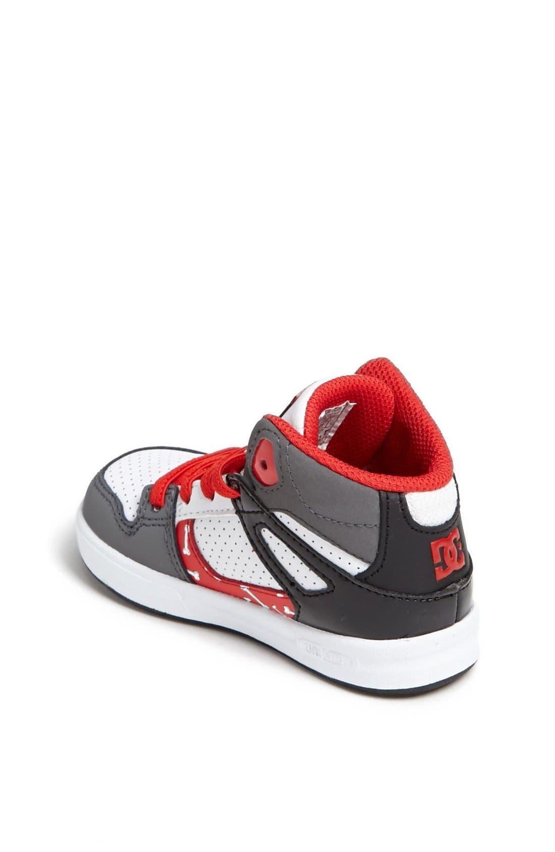 Alternate Image 2  - DC Shoes 'Wild Grinders - Rebound' Sneaker (Walker & Toddler)