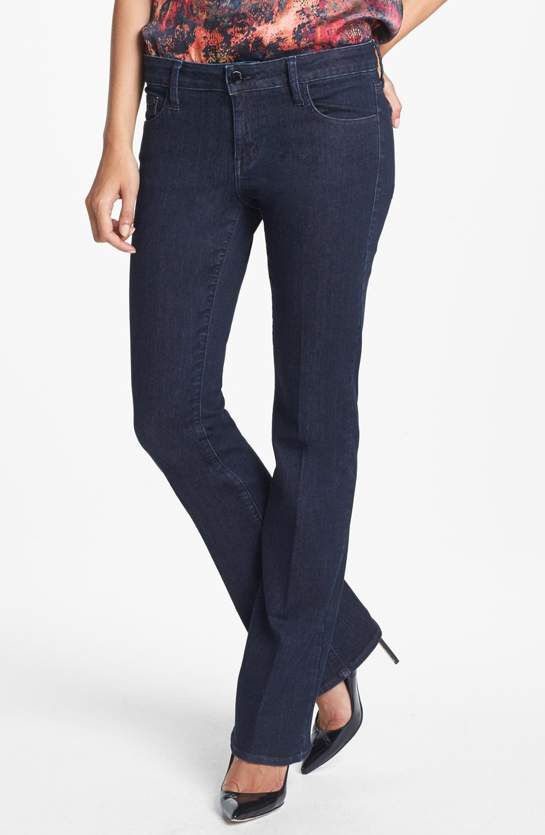 Alternate Image 1 Selected - !iT Collective 'Jolie' Slim Bootcut Jeans (A Star Is Born)