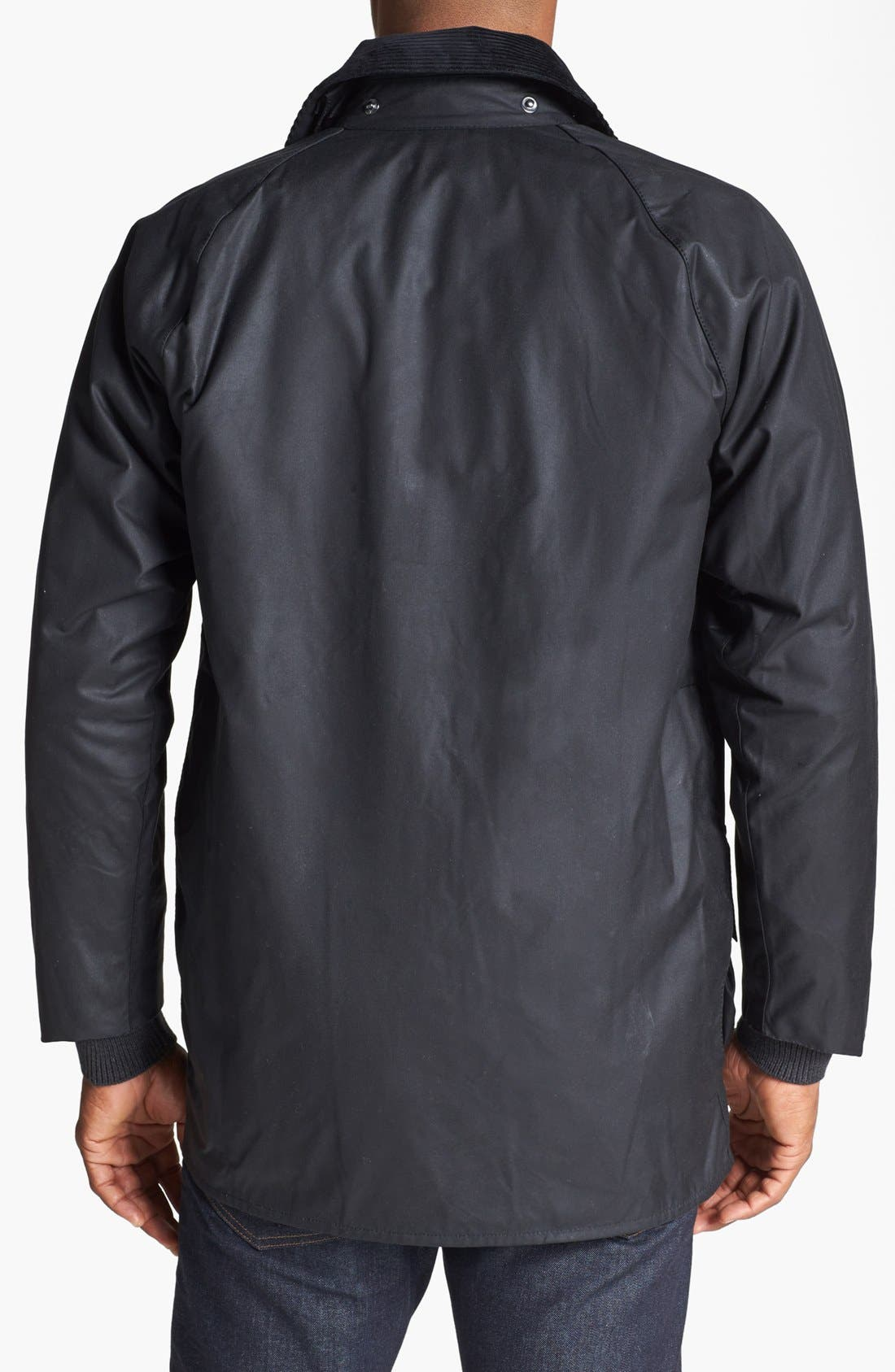 Alternate Image 2  - Barbour 'Beaufort' Regular Fit Weatherproof Waxed Jacket