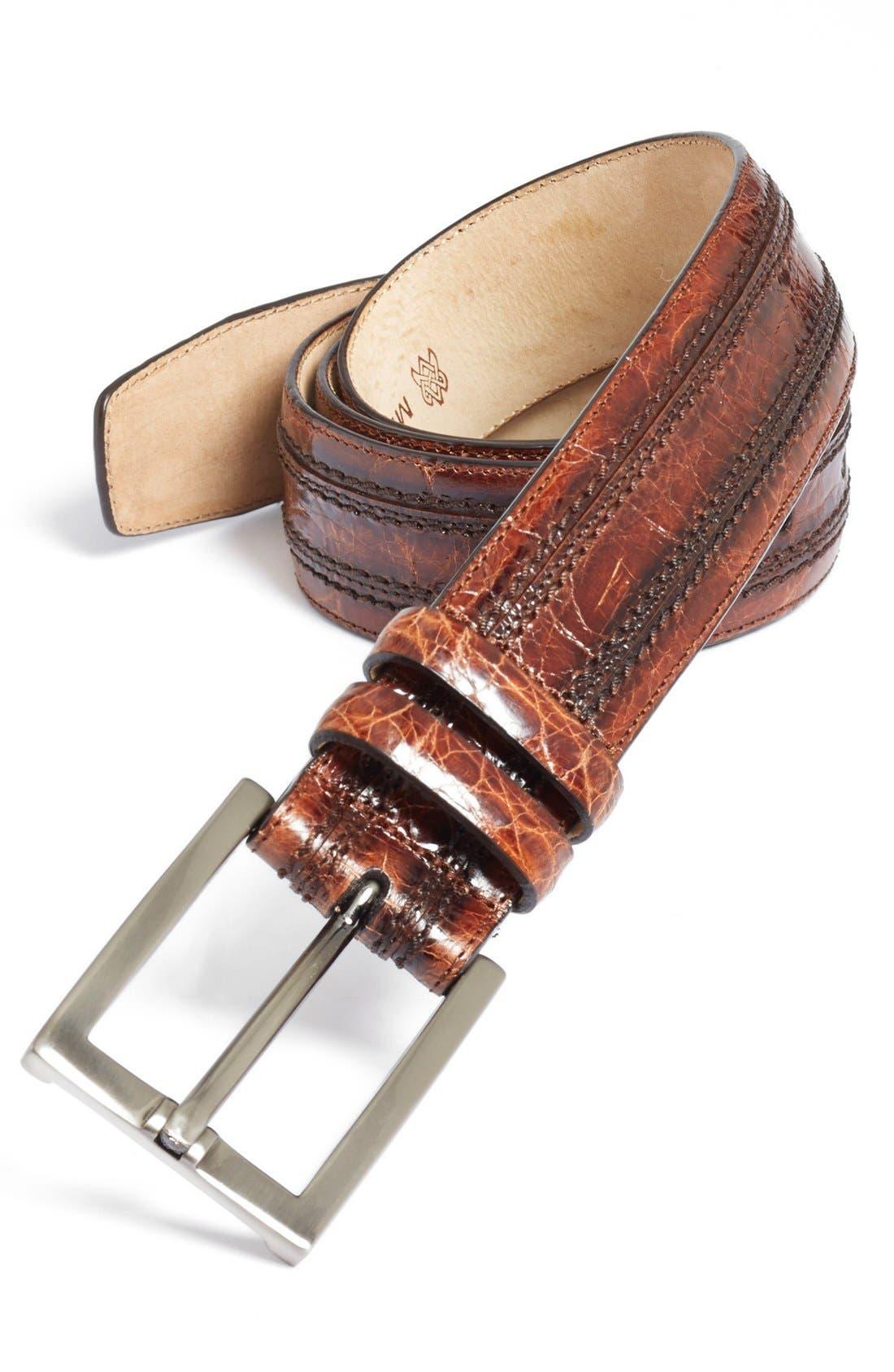Mezlan Crocodile Belt
