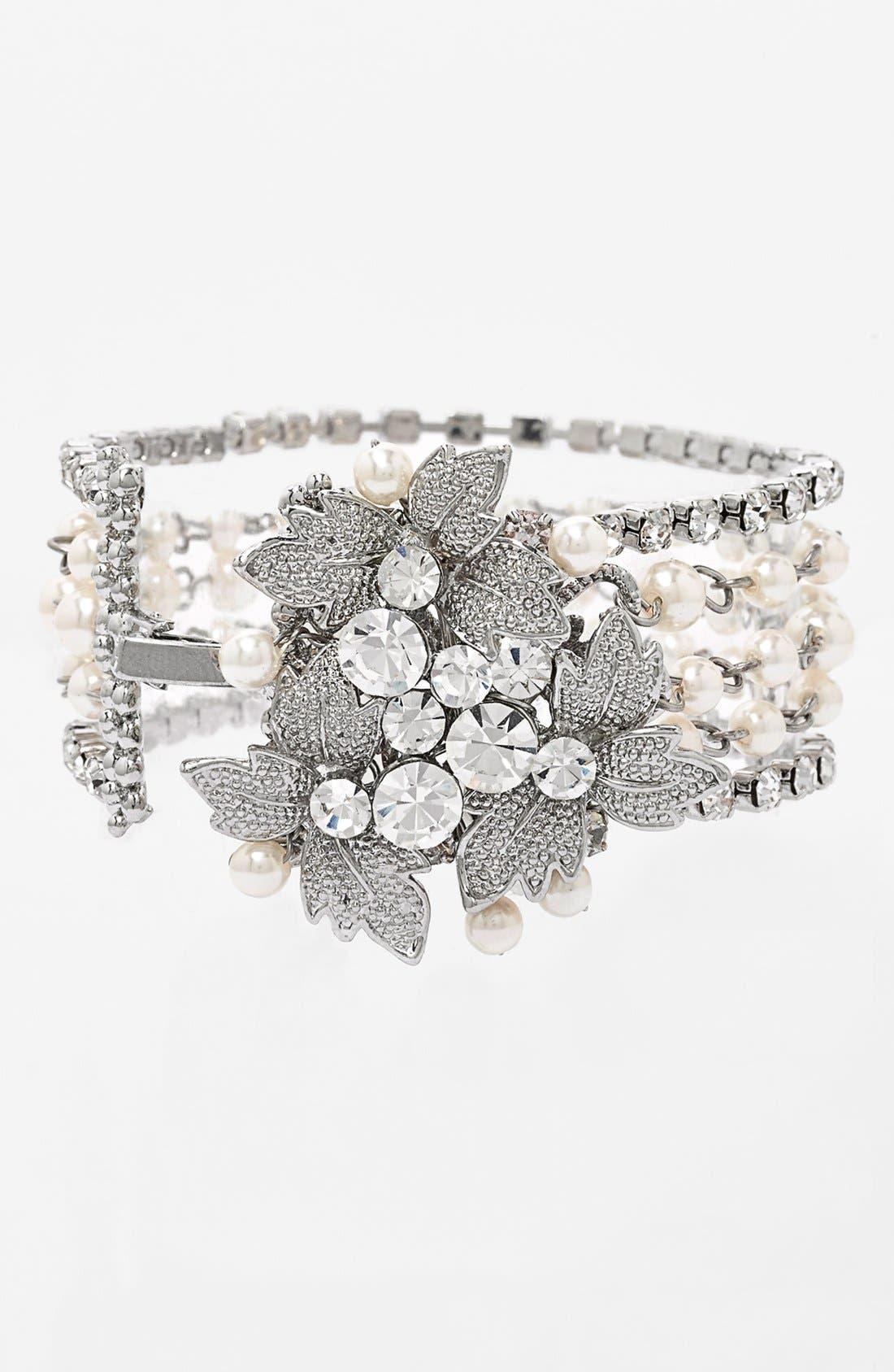 Alternate Image 1 Selected - Nina 'Heathrow' 5-Row Bracelet