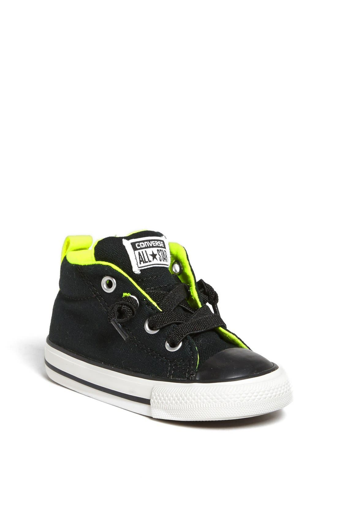 Alternate Image 1 Selected - Converse Chuck Taylor® 'Street Mid Cab' Sneaker (Walker & Toddler)
