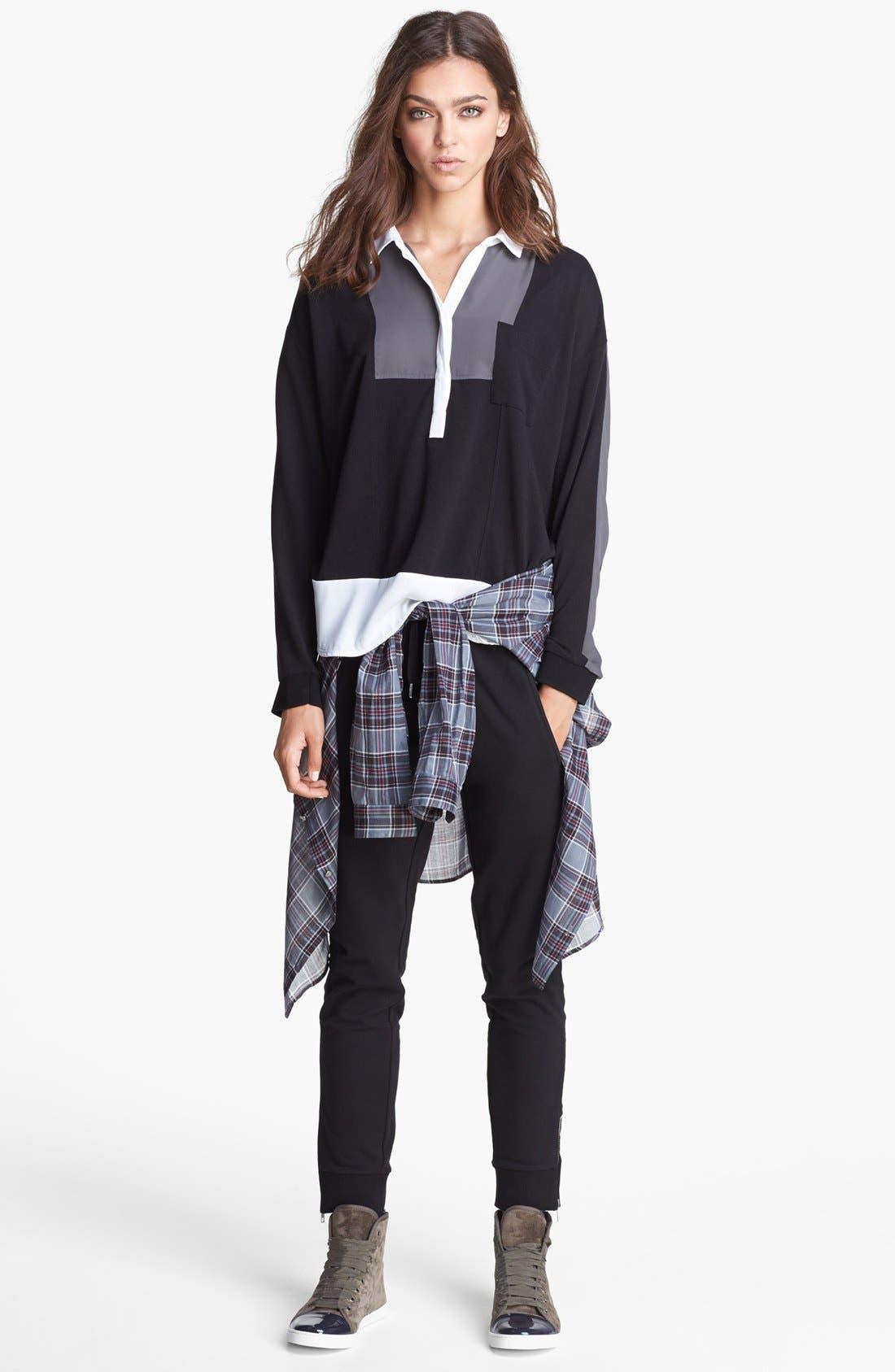 Alternate Image 4  - The Kooples Side Stripe Sweatpants