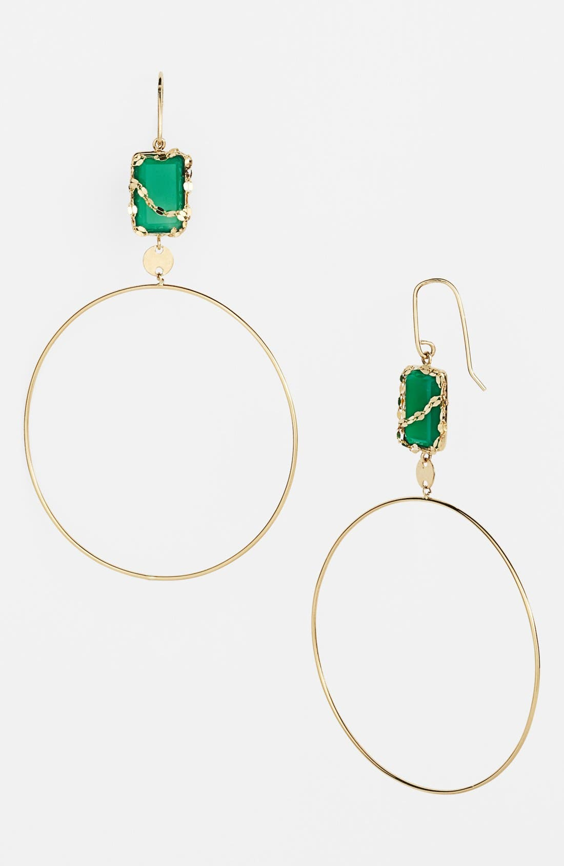 Alternate Image 1 Selected - Lana Jewelry 'Spellbound - Small Glow' Dangle Hoop Earrings (Nordstrom Exclusive)