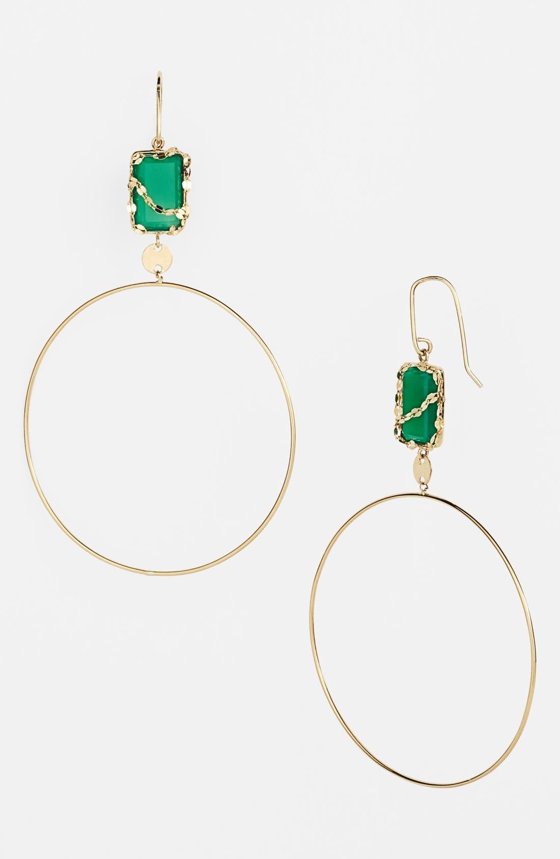 Main Image - Lana Jewelry 'Spellbound - Small Glow' Dangle Hoop Earrings (Nordstrom Exclusive)