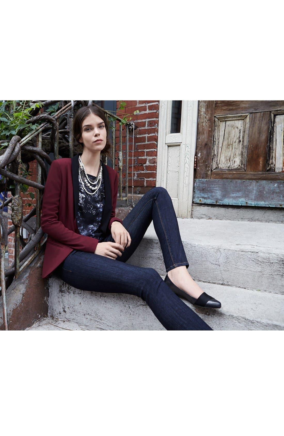 Alternate Image 4  - Hudson Jeans 'Krista' Super Skinny Jeans (Foley)